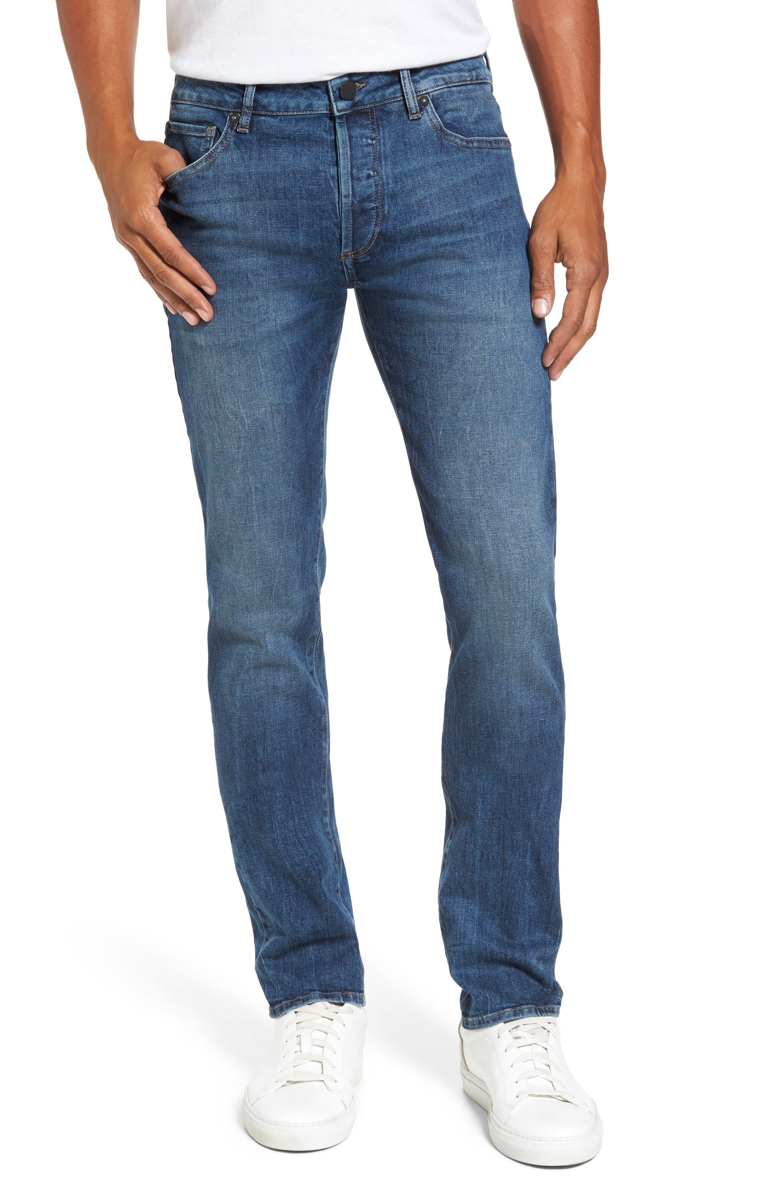Alternate Image 1 Selected - DL1961 Nick Slim Fit Jeans (Civil)