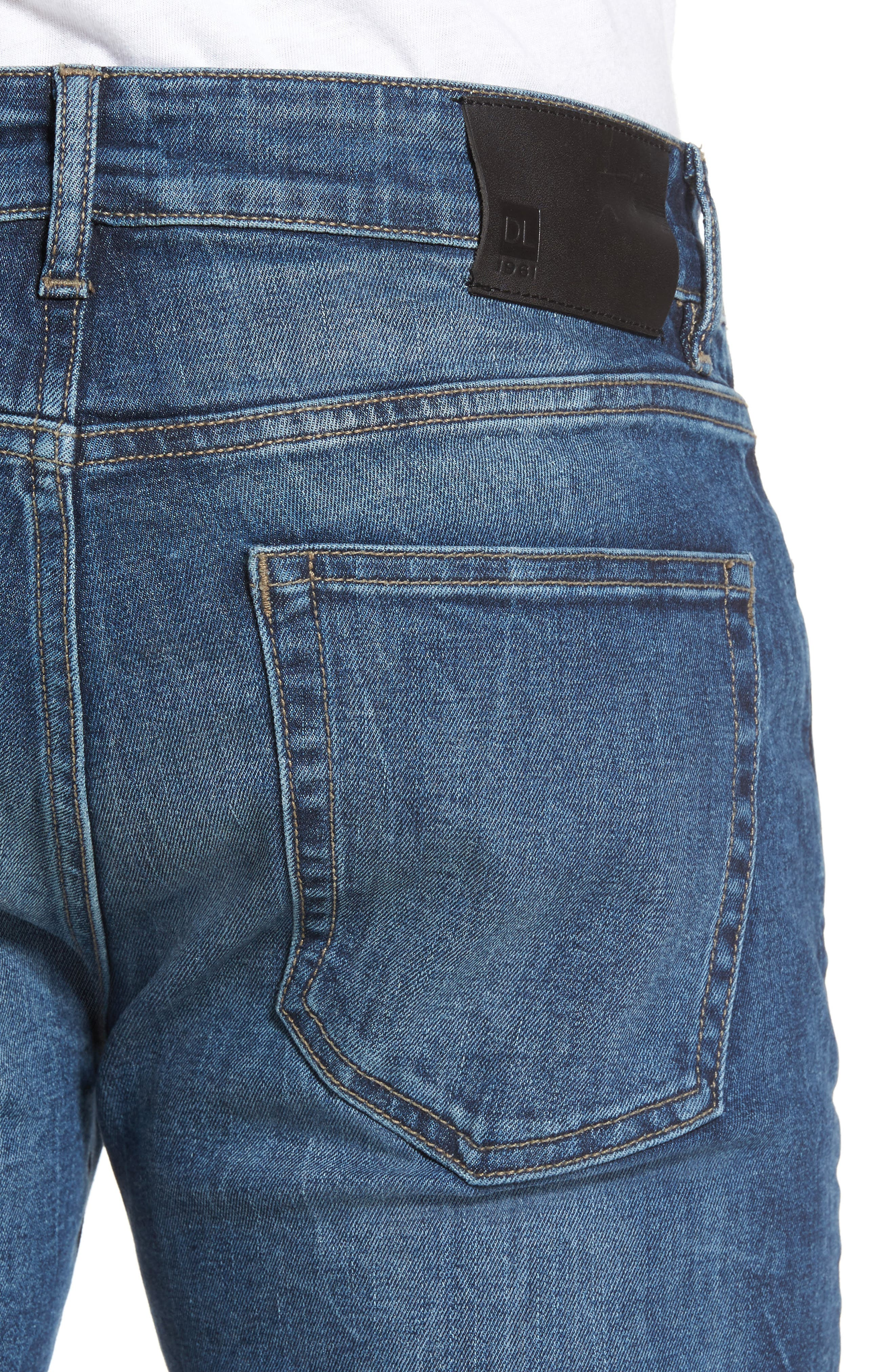 Alternate Image 4  - DL1961 Nick Slim Fit Jeans (Civil)