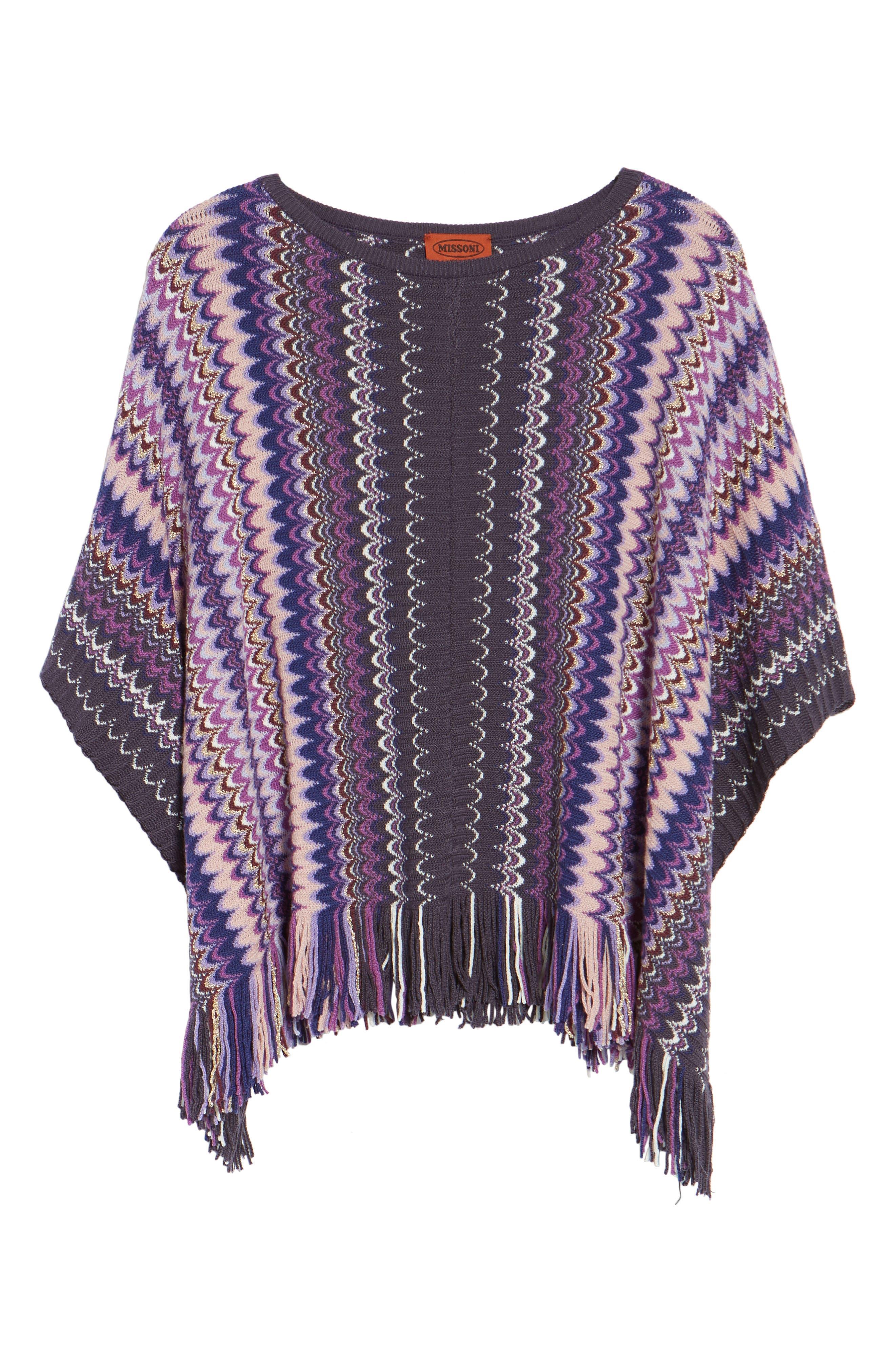 Alternate Image 5  - Missoni Stripe Poncho