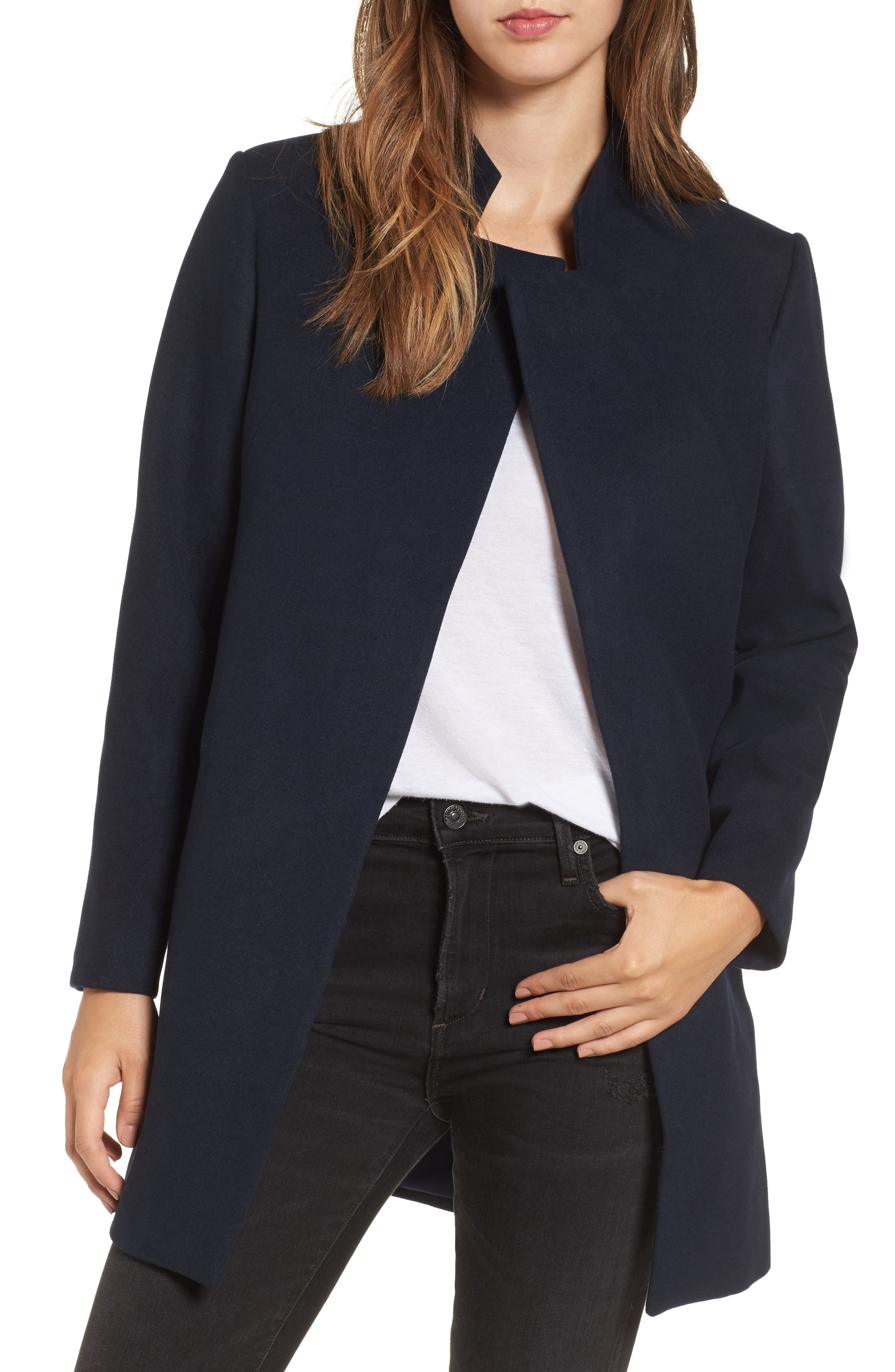 Dream Town Coat,                         Main,                         color, Navy
