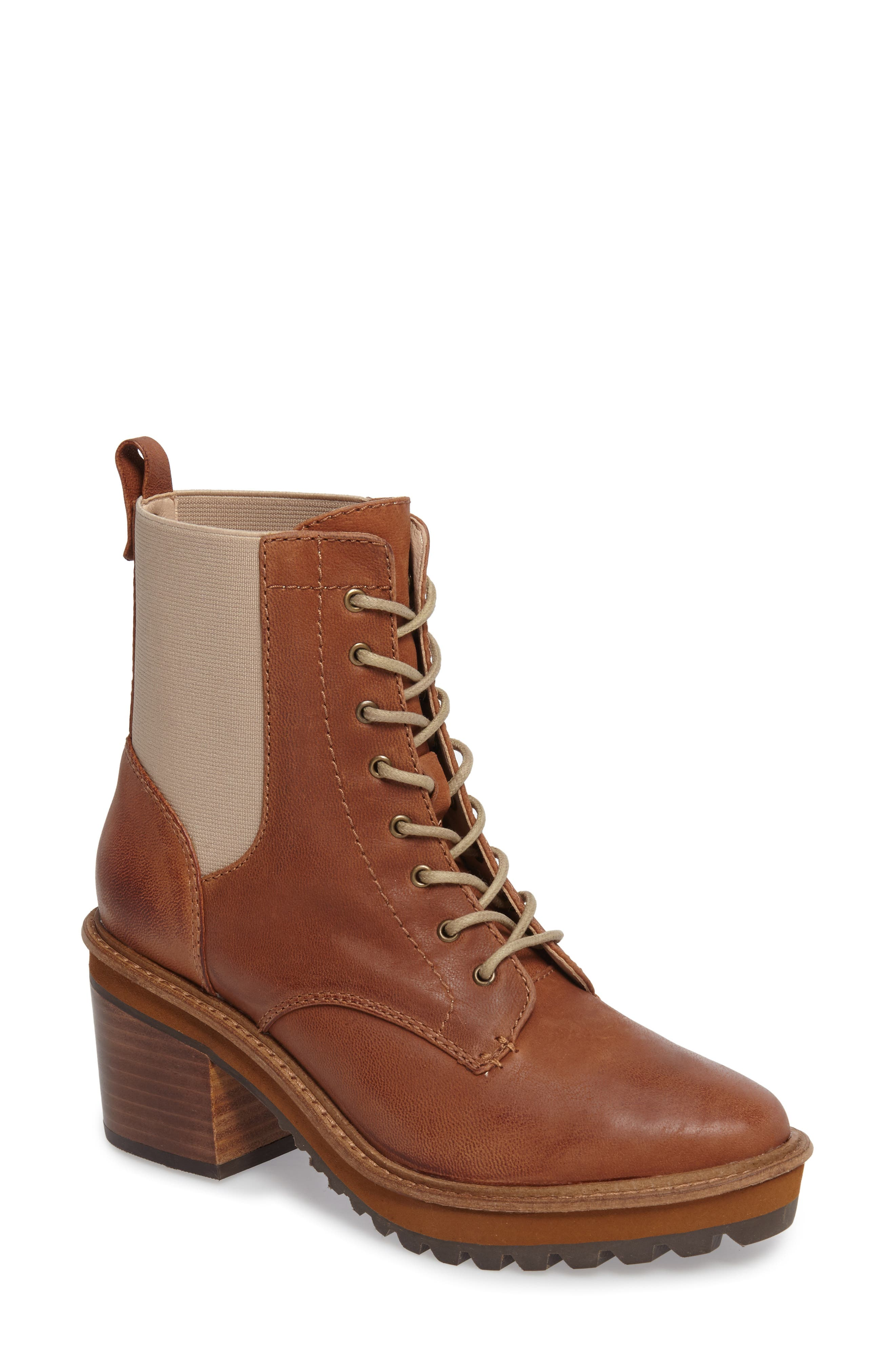 Alternate Image 1 Selected - Kelsi Dagger Brooklyn Parkway Lace-Up Bootie (Women)