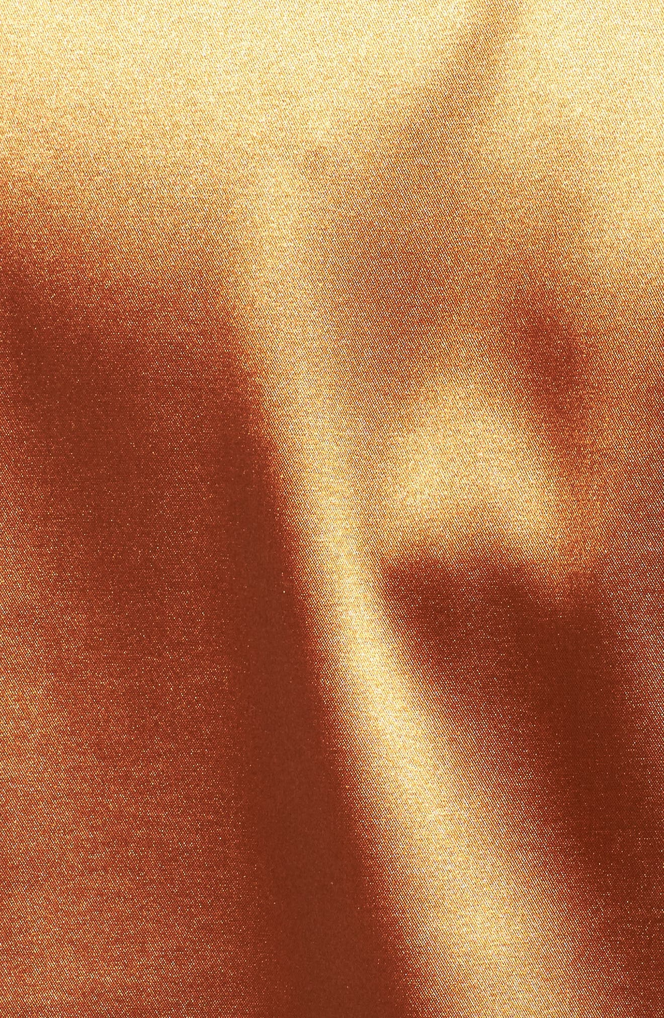 Alternate Image 5  - ELVI Copper Frill Shirt (Plus Size)