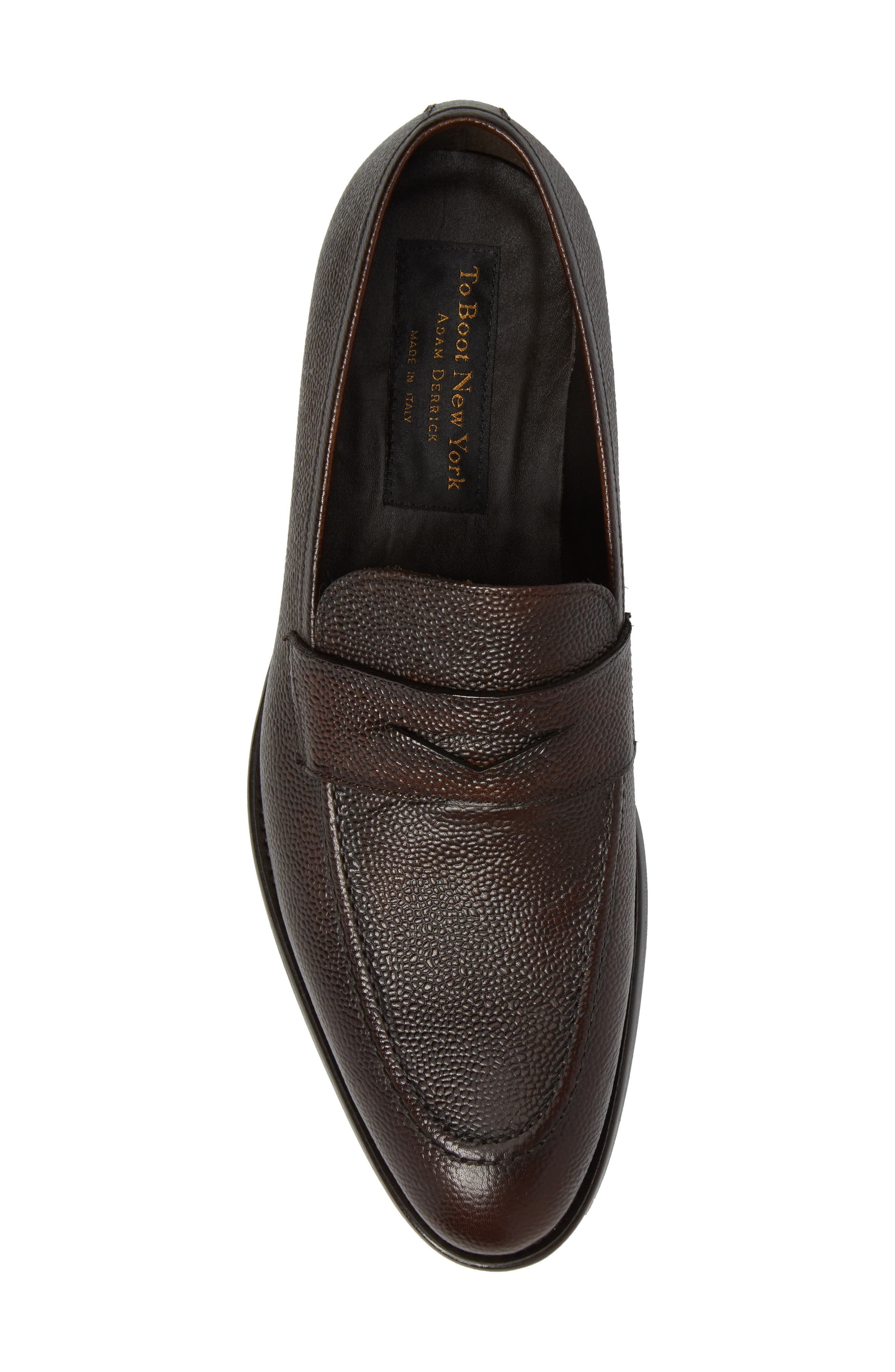 James Penny Loafer,                             Alternate thumbnail 5, color,                             Brown Leather