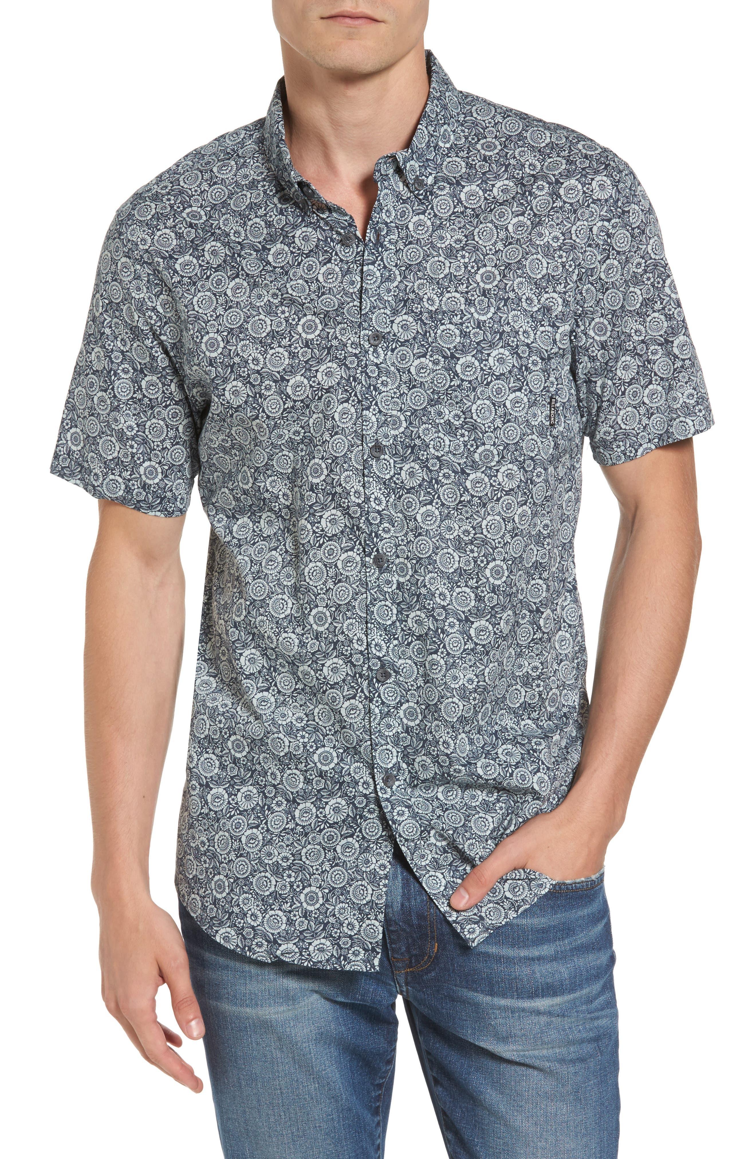 Sundays Mini Woven Shirt,                         Main,                         color, Grey