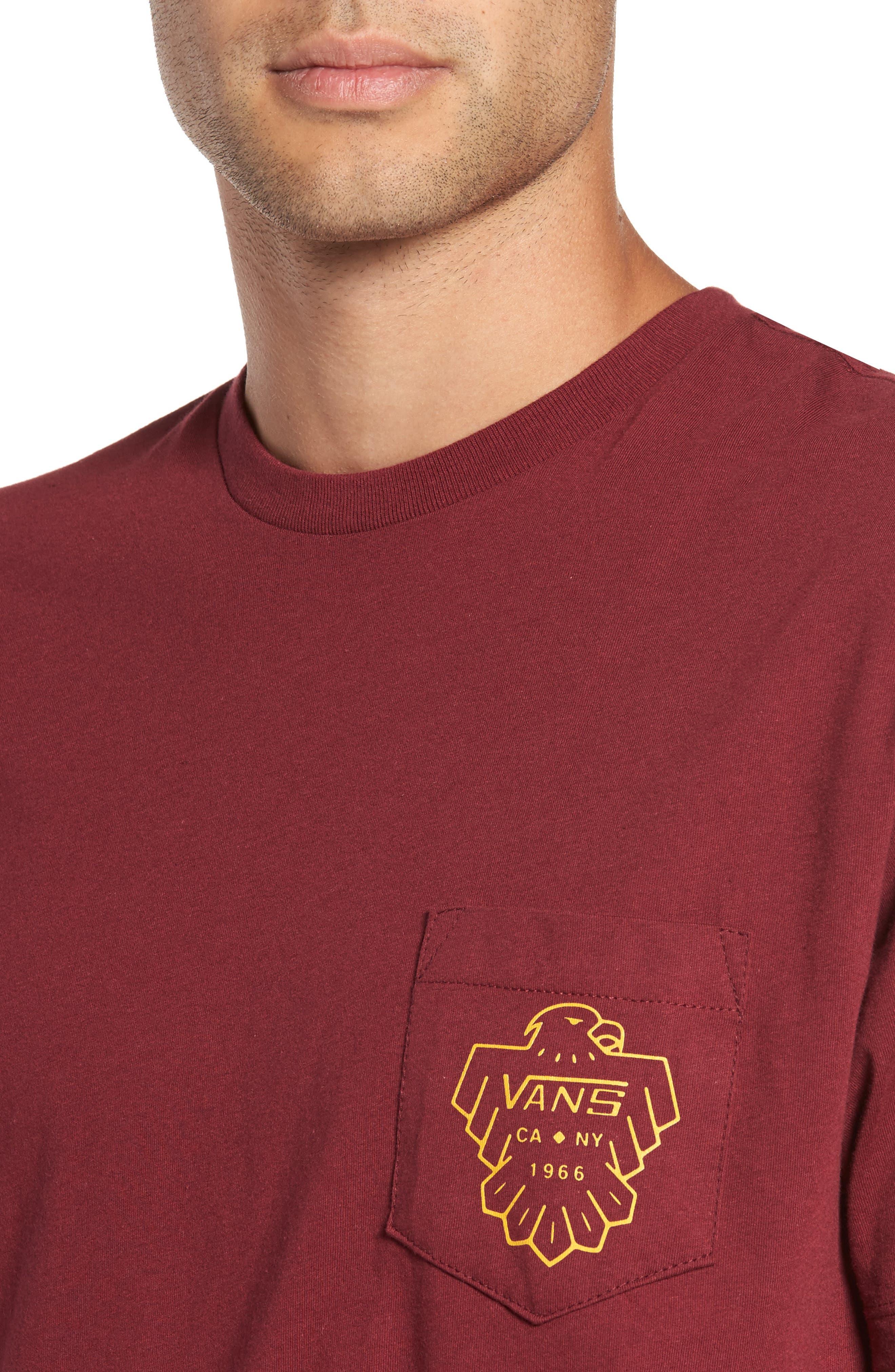 Alternate Image 4  - Vans Thunderbird Graphic Pocket T-Shirt