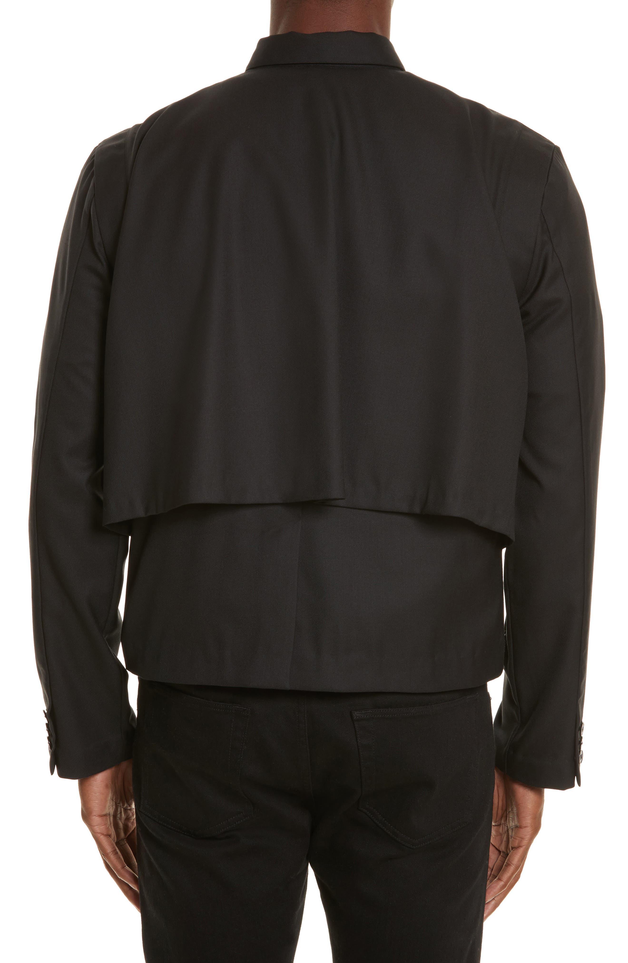 Expandable Jacket,                             Alternate thumbnail 2, color,                             Black