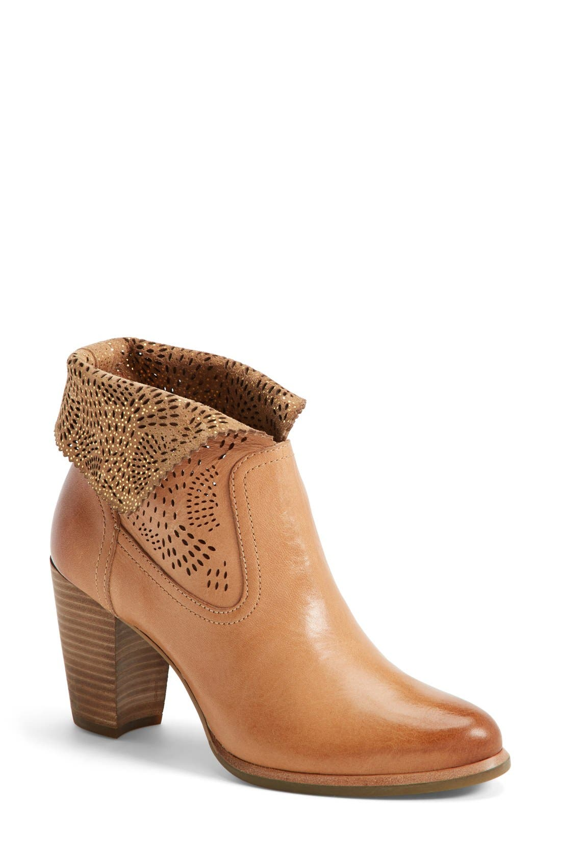 Alternate Image 1 Selected - UGG® Australia 'Thames Seaweed' Perforated Bootie (Women)