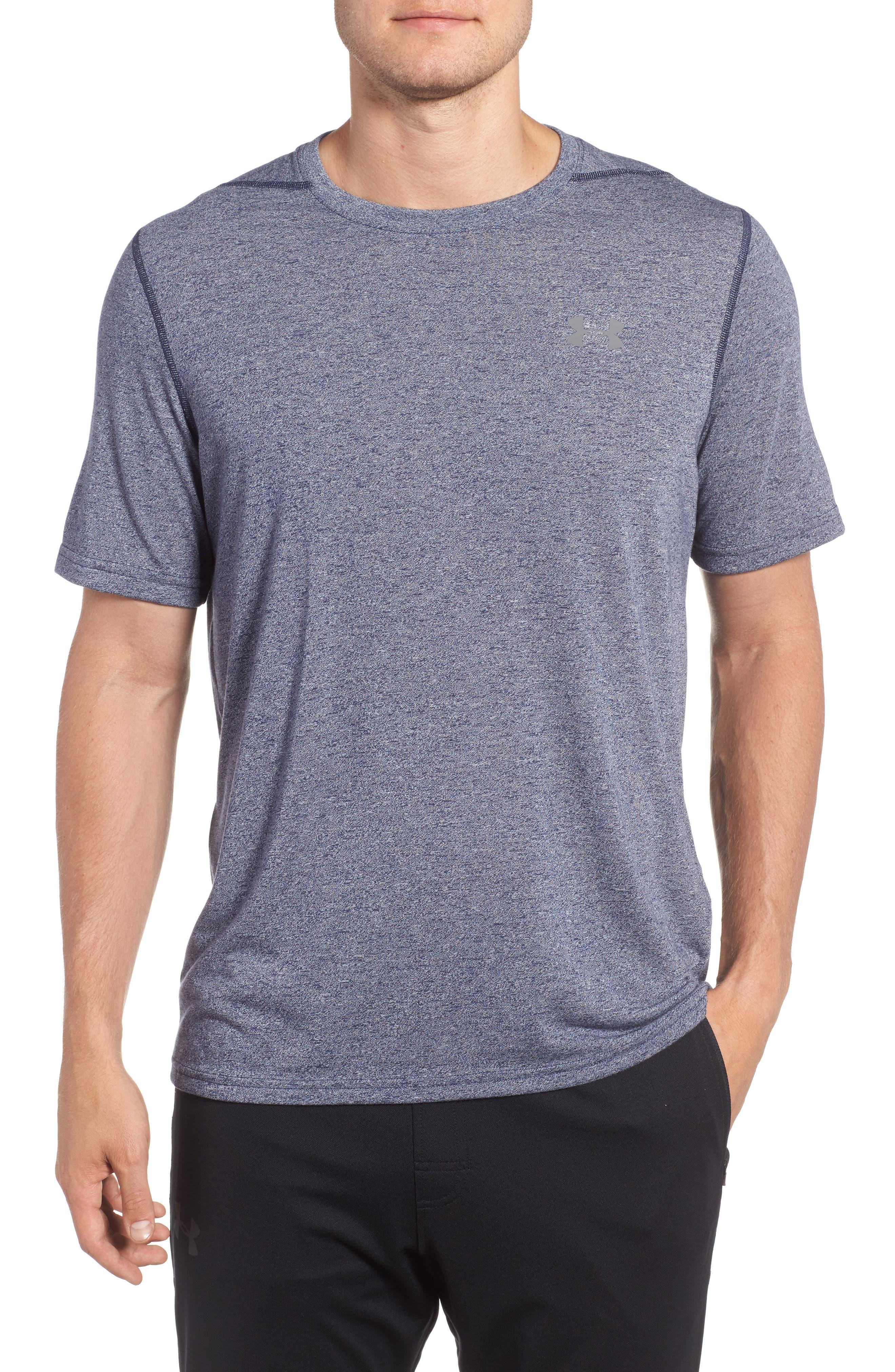 Regular Fit Threadborne T-Shirt,                             Main thumbnail 1, color,                             Midnight