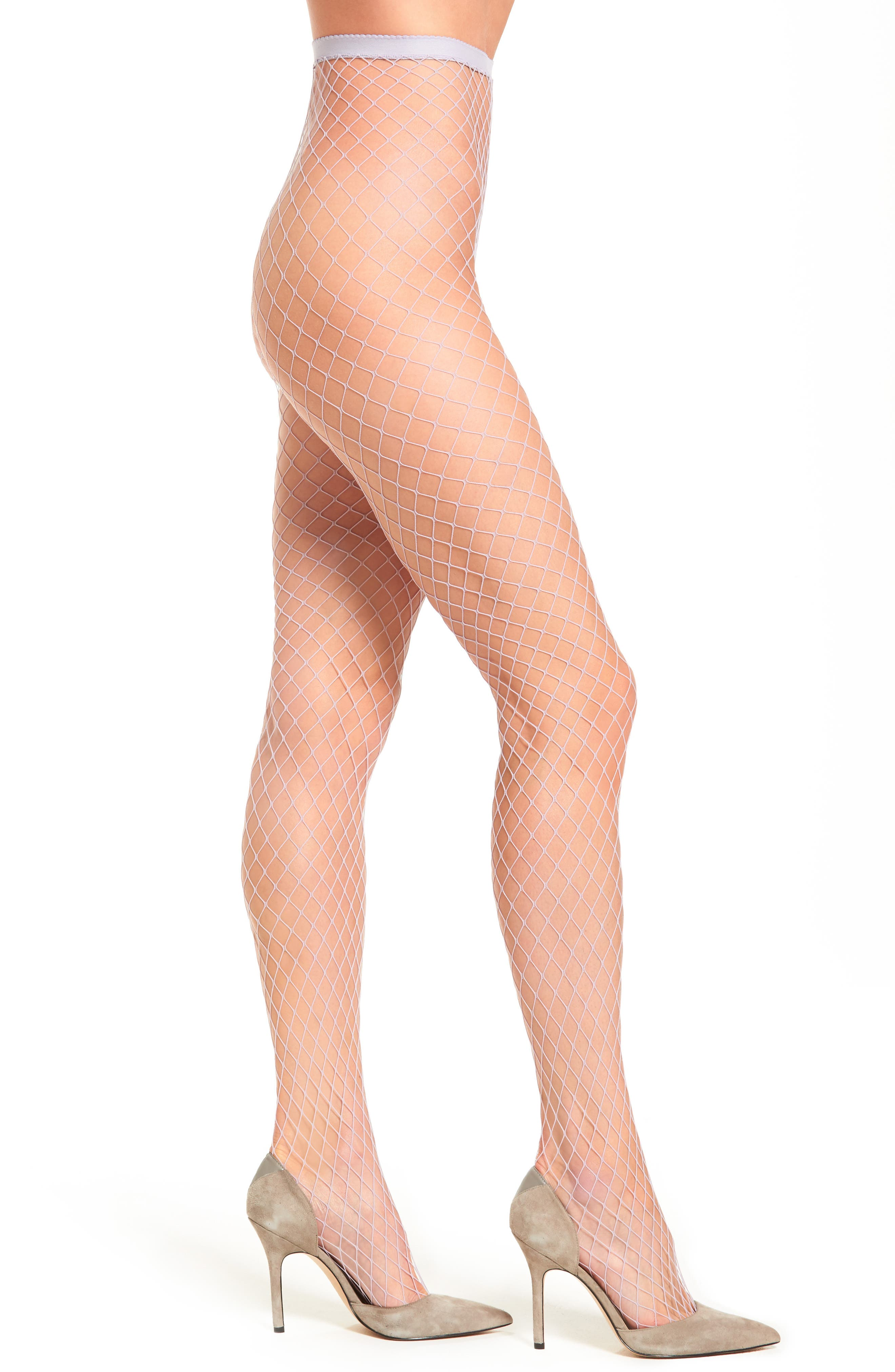 Alternate Image 1 Selected - Free People Libby Fishnet Tights