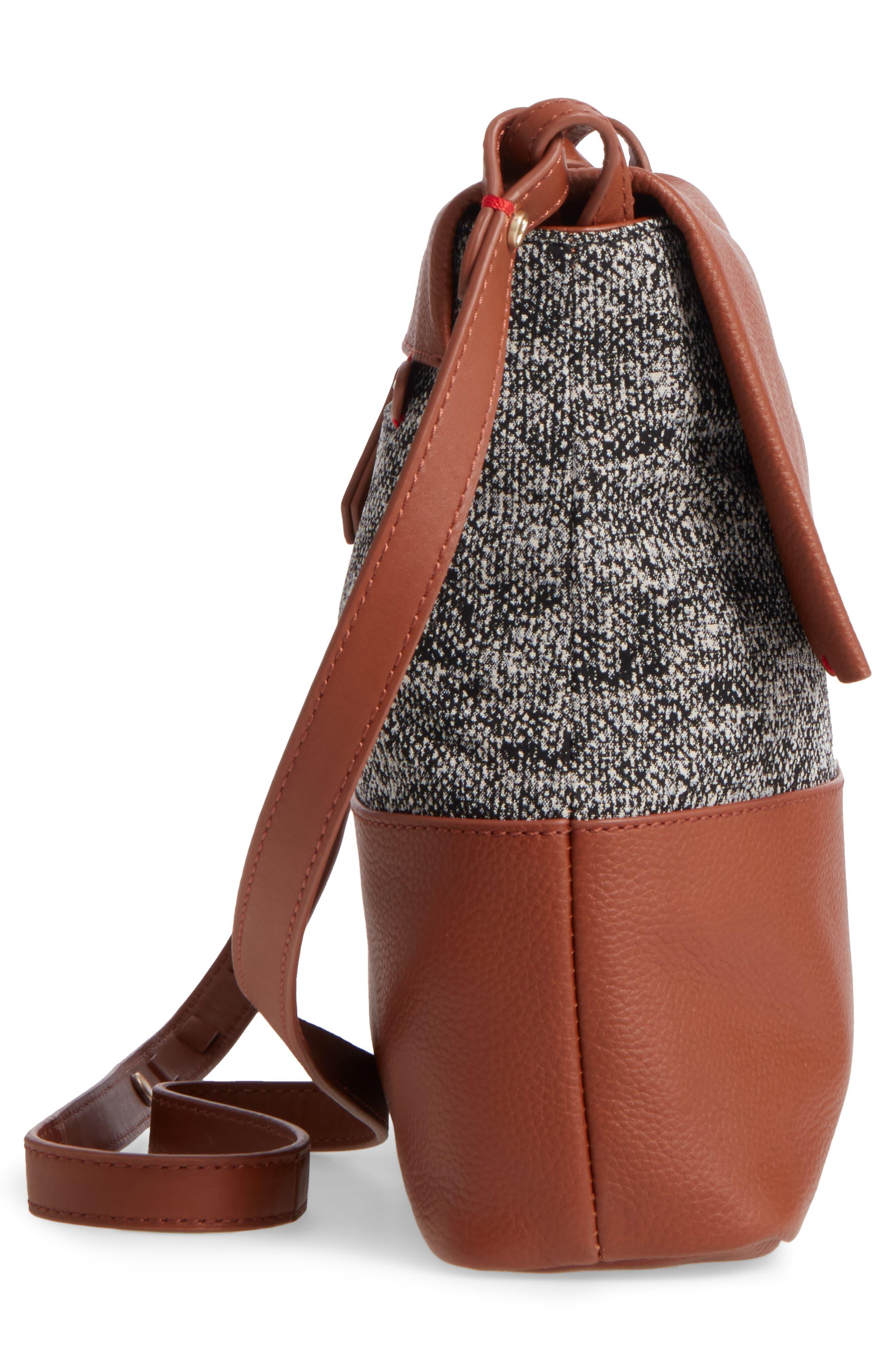 Medium Brea Crossbody Bag,                             Alternate thumbnail 3, color,                             Whiskey