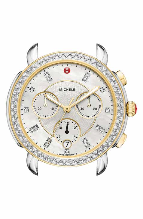 a31b2d46f MICHELE Sidney Chrono Diamond Diamond Dial Watch Case, 38mm