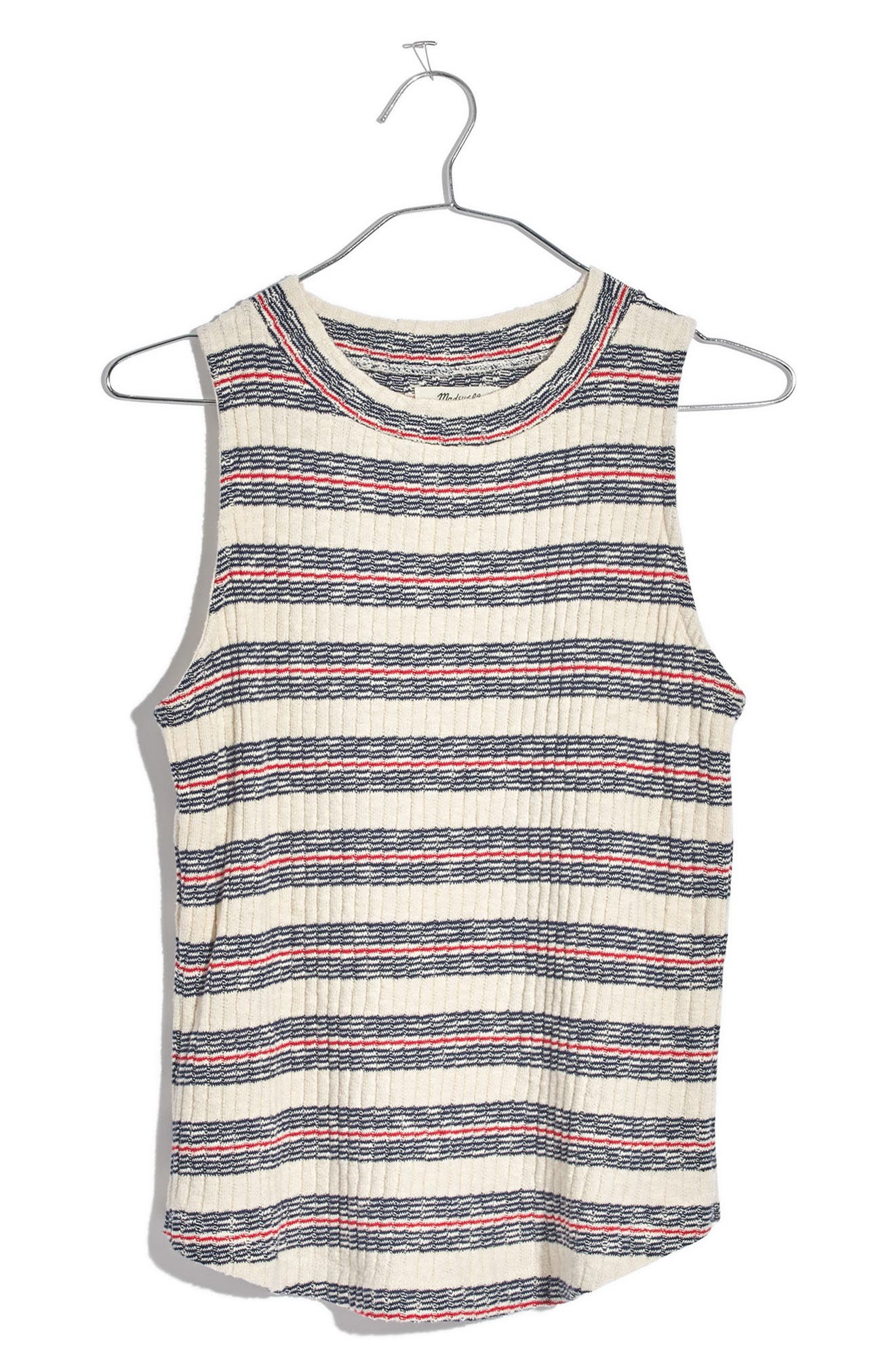 Madewell Stripe Ribbed Tank