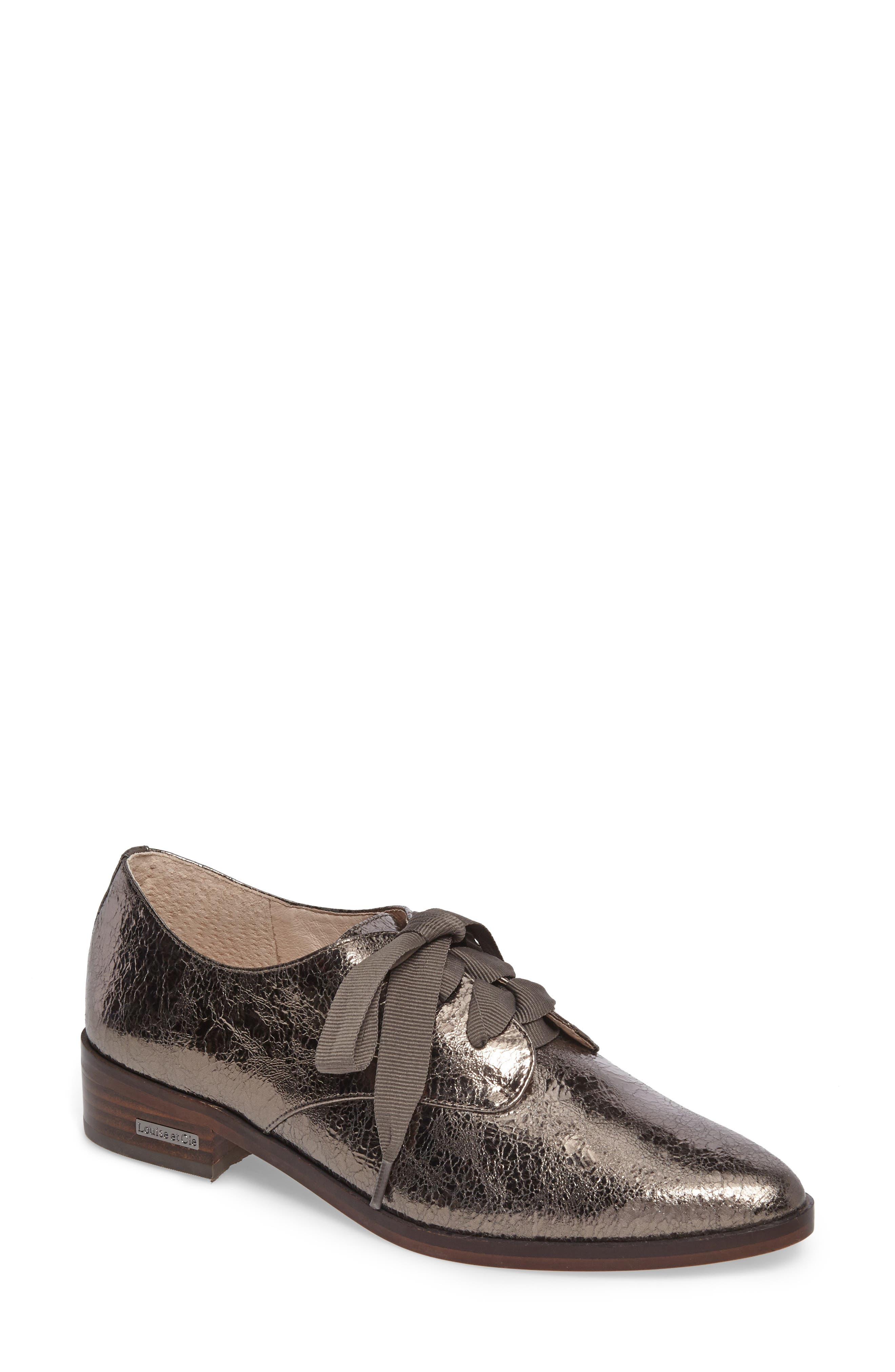 Main Image - Louise et Cie 'Adwin' Almond Toe Oxford (Women) (Nordstrom Exclusive)
