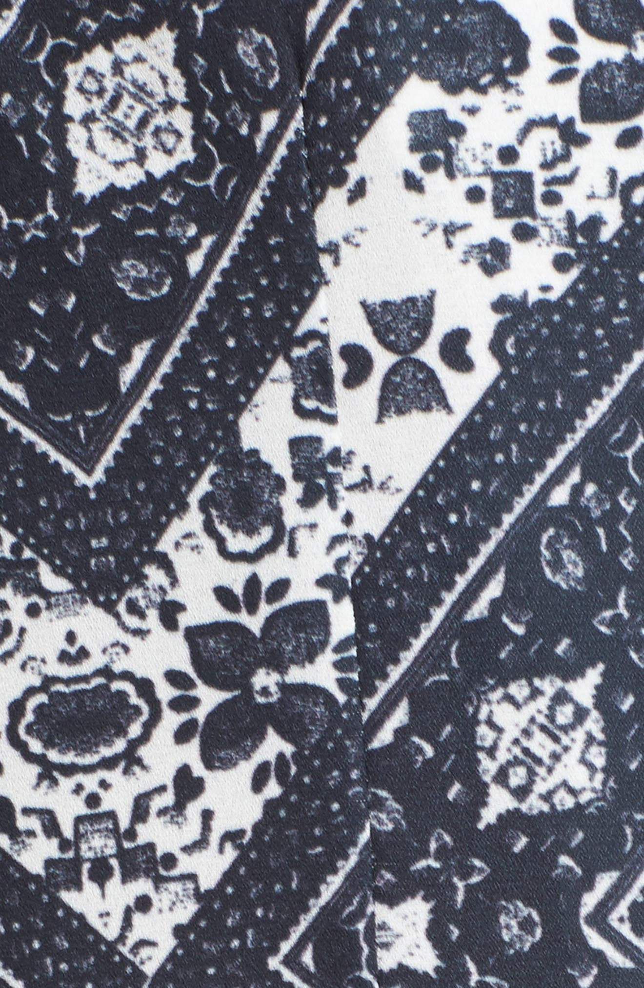 Bev Print Blouse,                             Alternate thumbnail 5, color,                             Medieval Tapestry