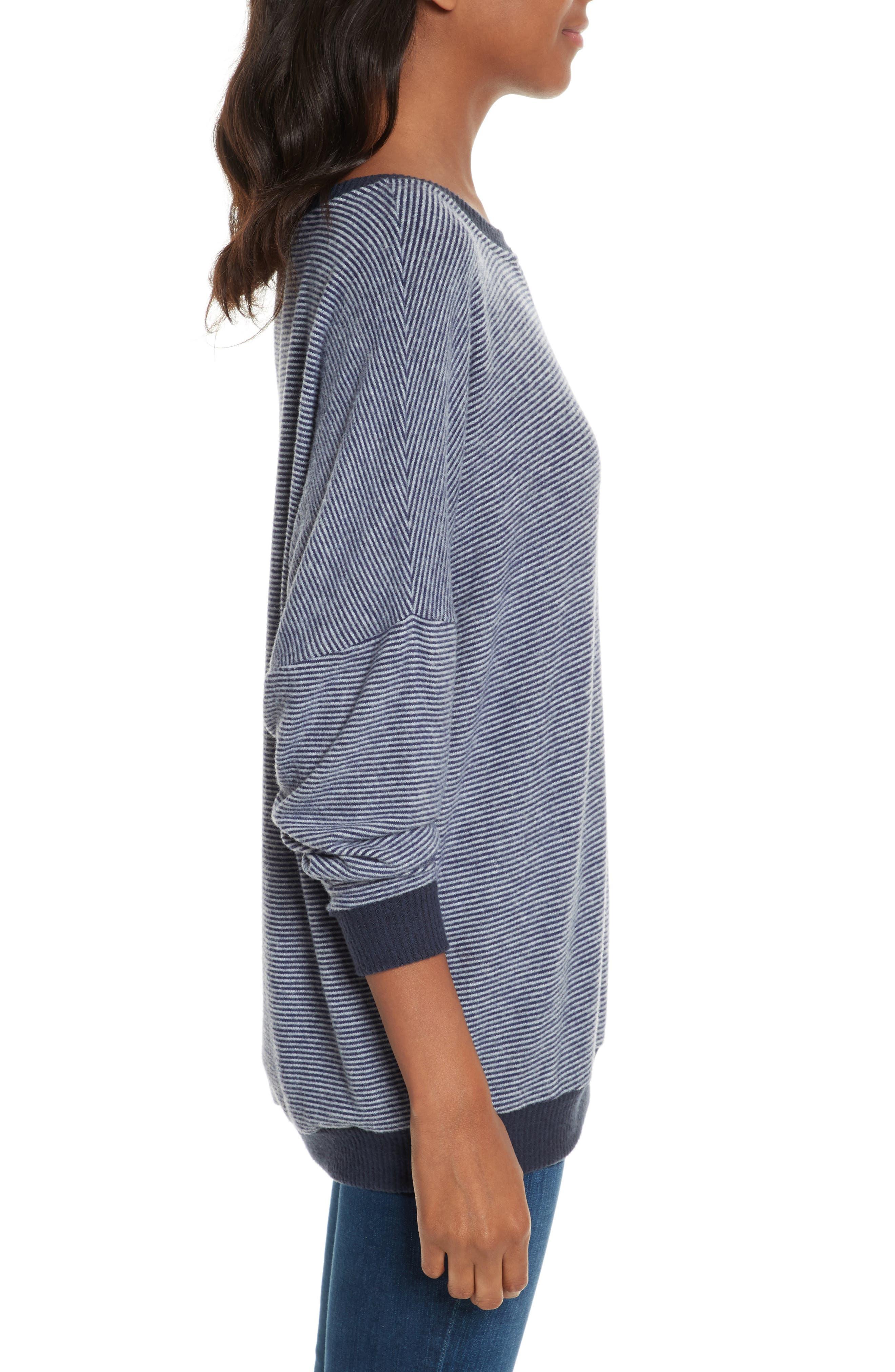 Alternate Image 3  - Joie Striped Sweatshirt