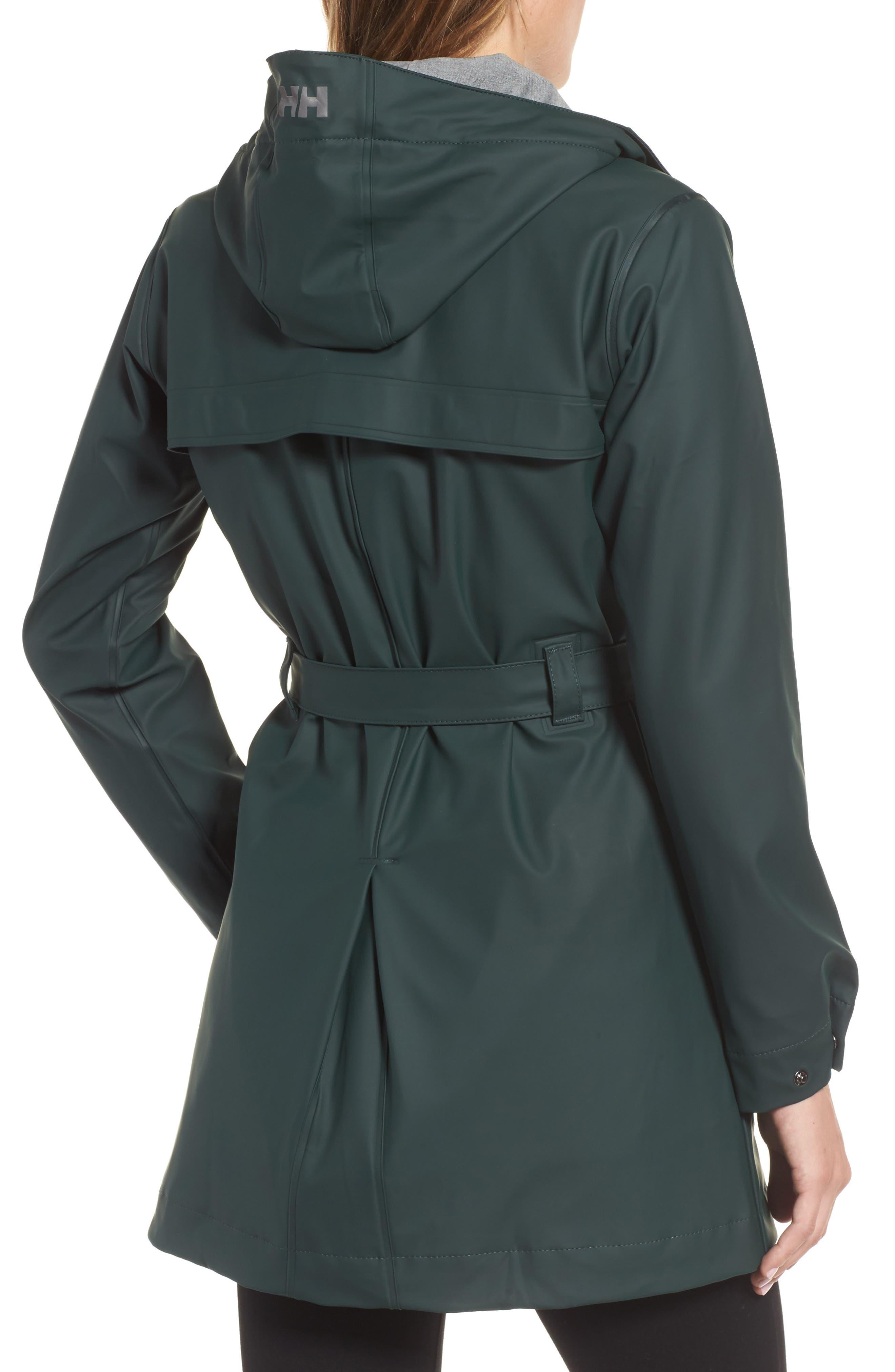 Kirkwall Raincoat,                             Alternate thumbnail 2, color,                             Darkest Spruce