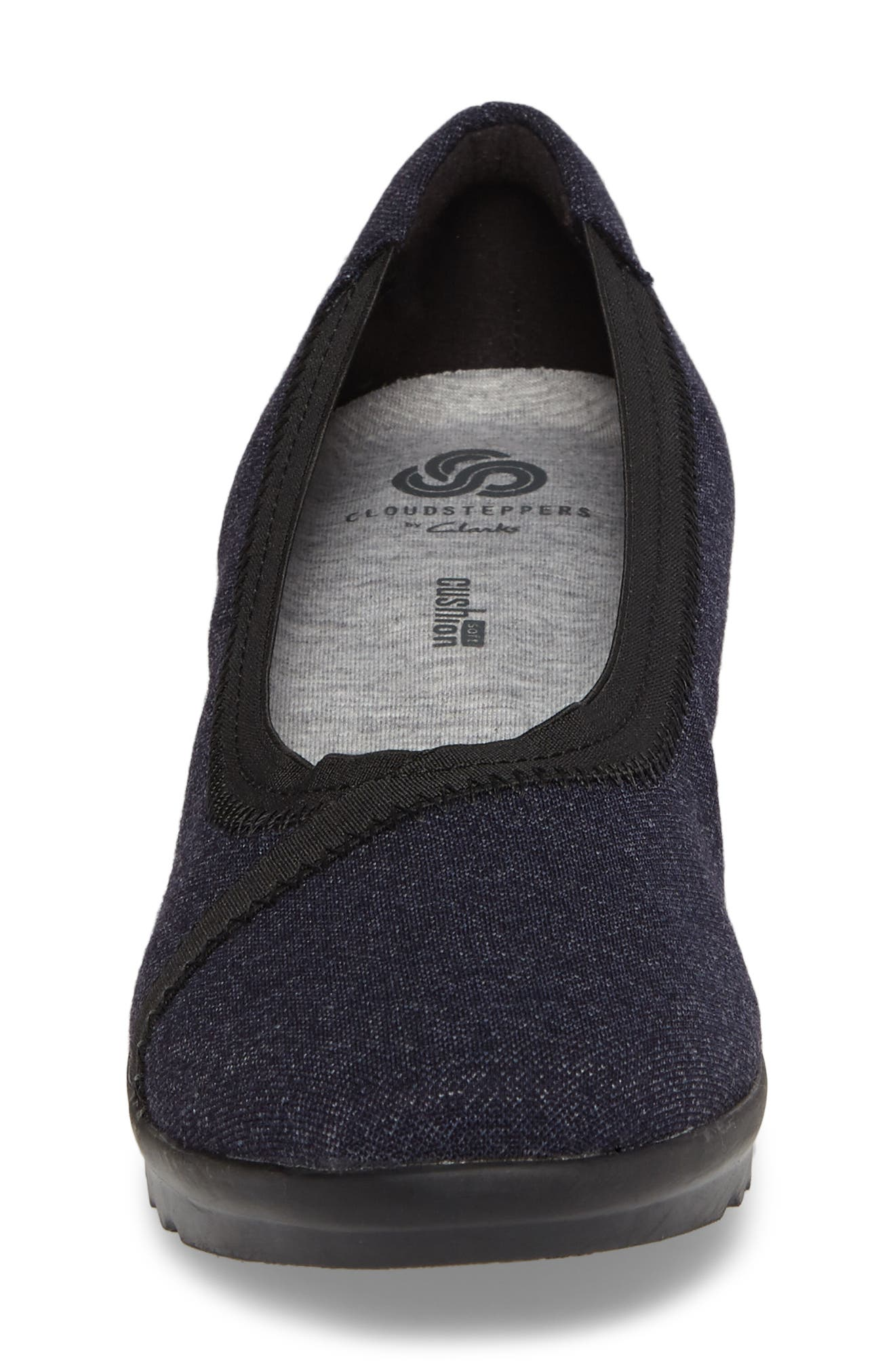 Alternate Image 4  - Clarks® Caddell Dash Wedge (Women)