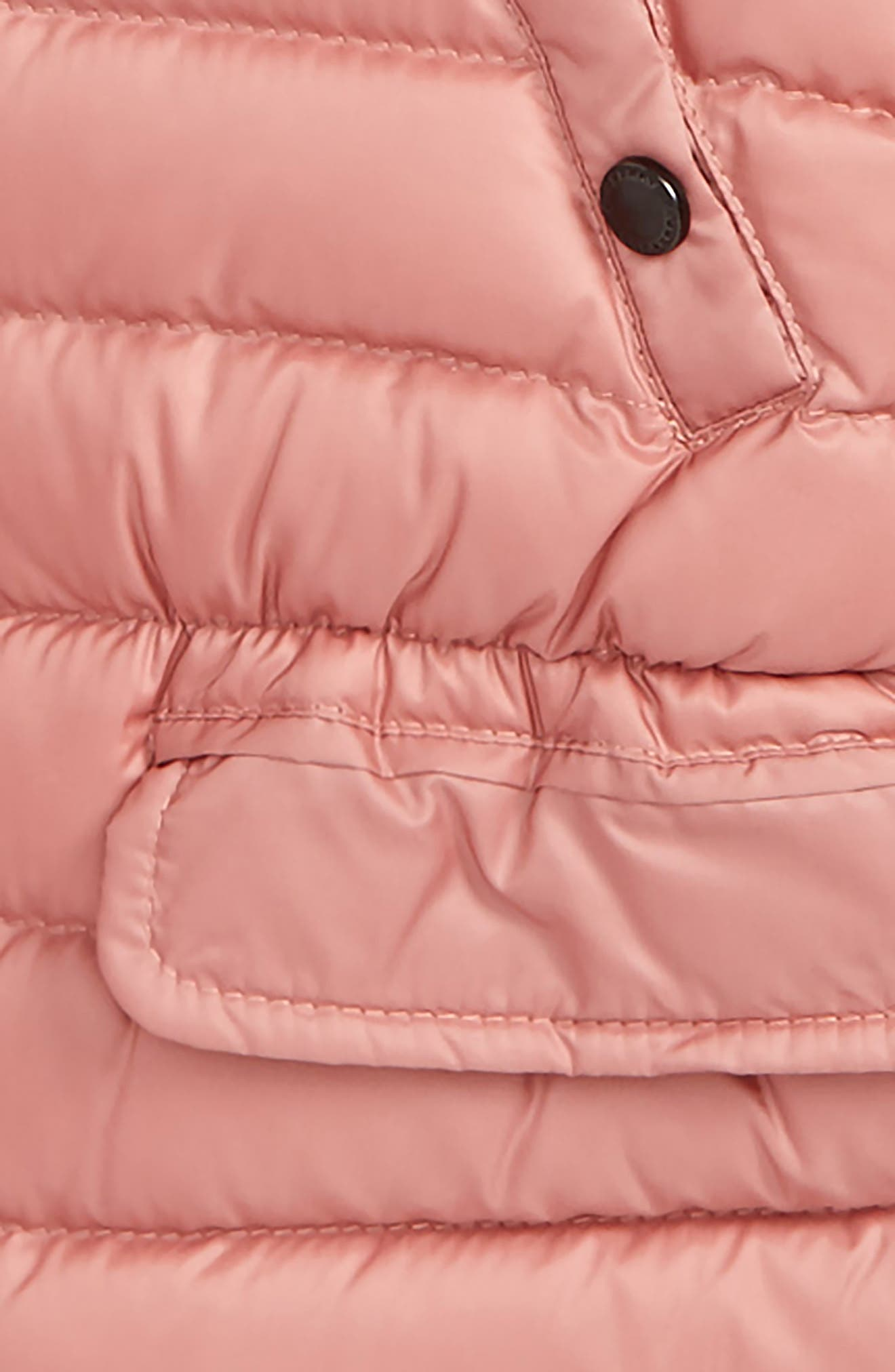 Mini Bronwyn Down Jacket,                             Alternate thumbnail 2, color,                             Pale Rose