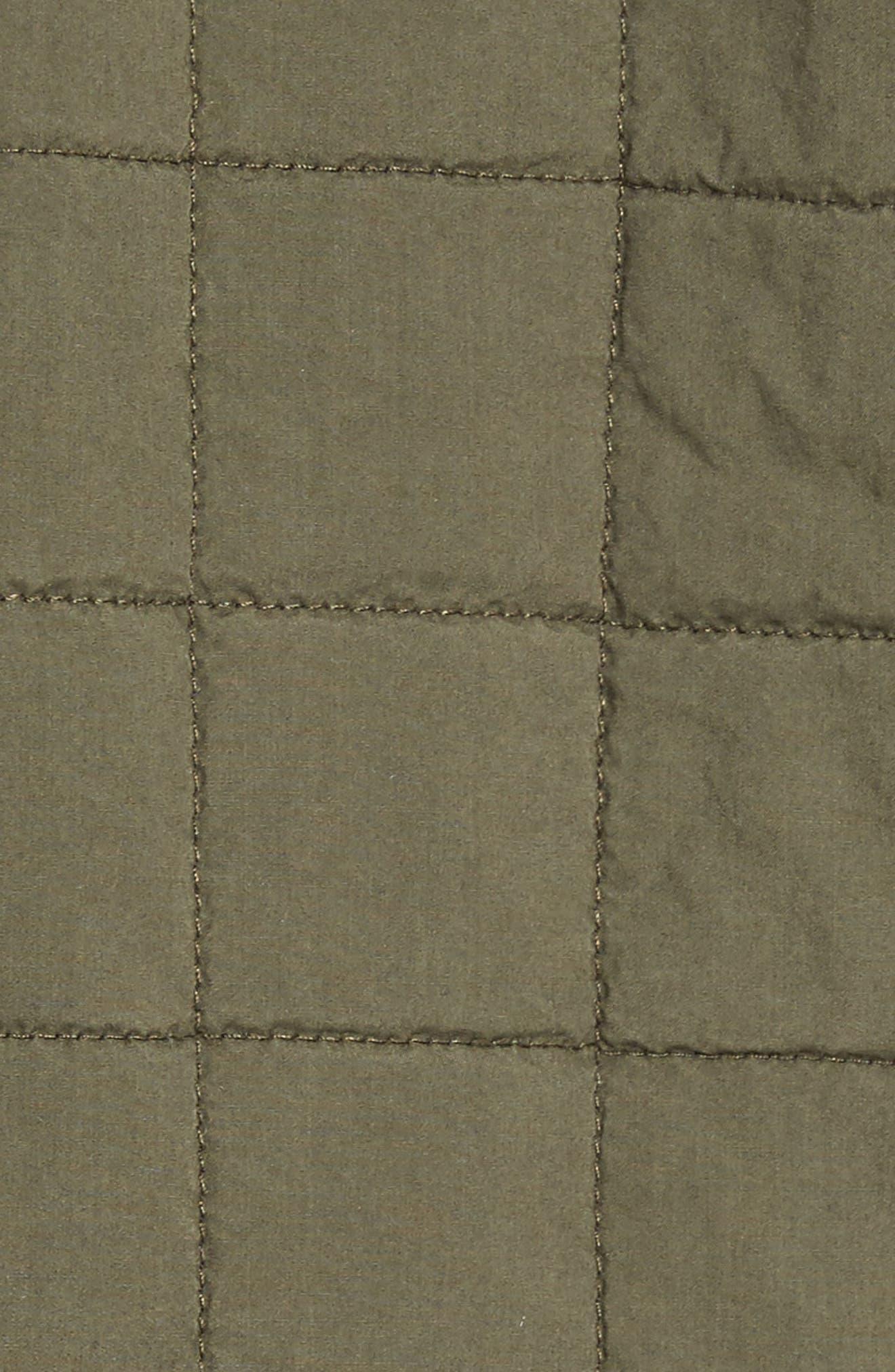 Alternate Image 5  - UGG® Quilted Shirt Jacket