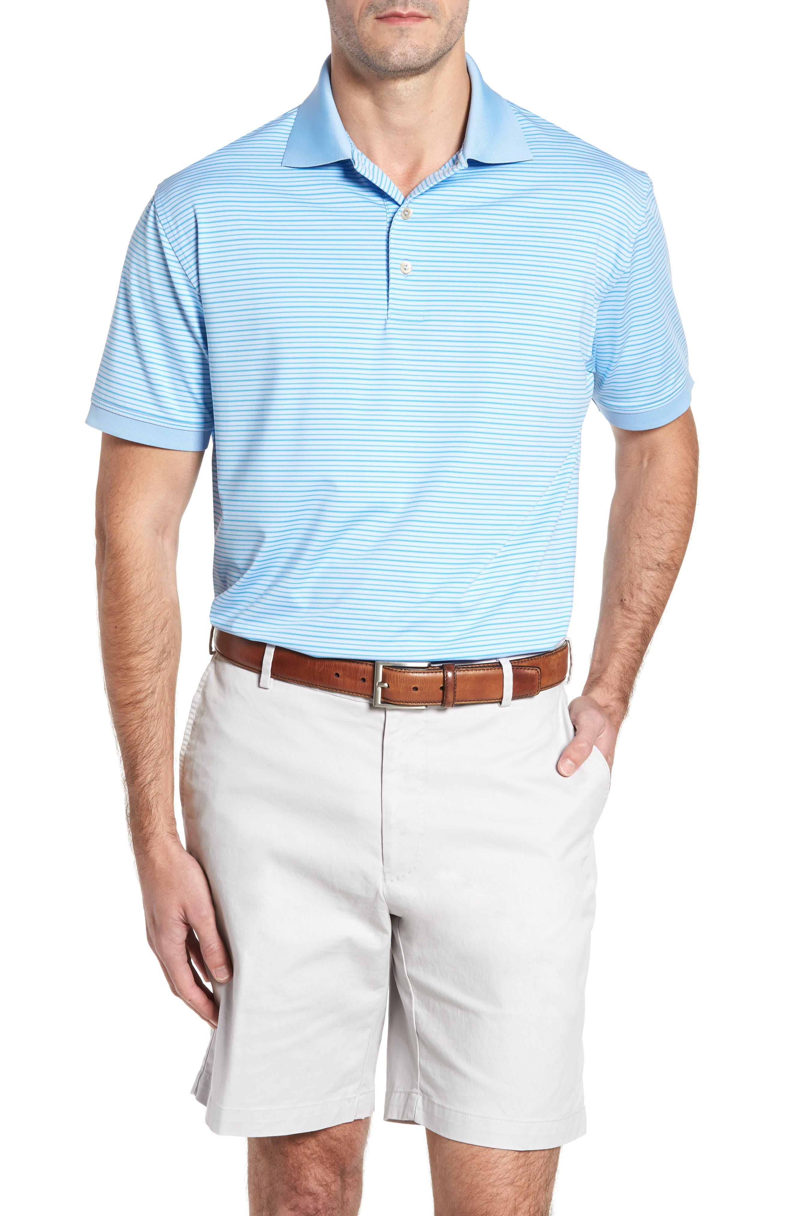 Peter Millar Creto Stripe Jersey Polo