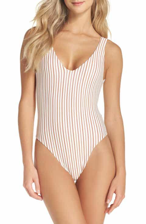 L Space Arizona Reversible One-Piece Swimsuit
