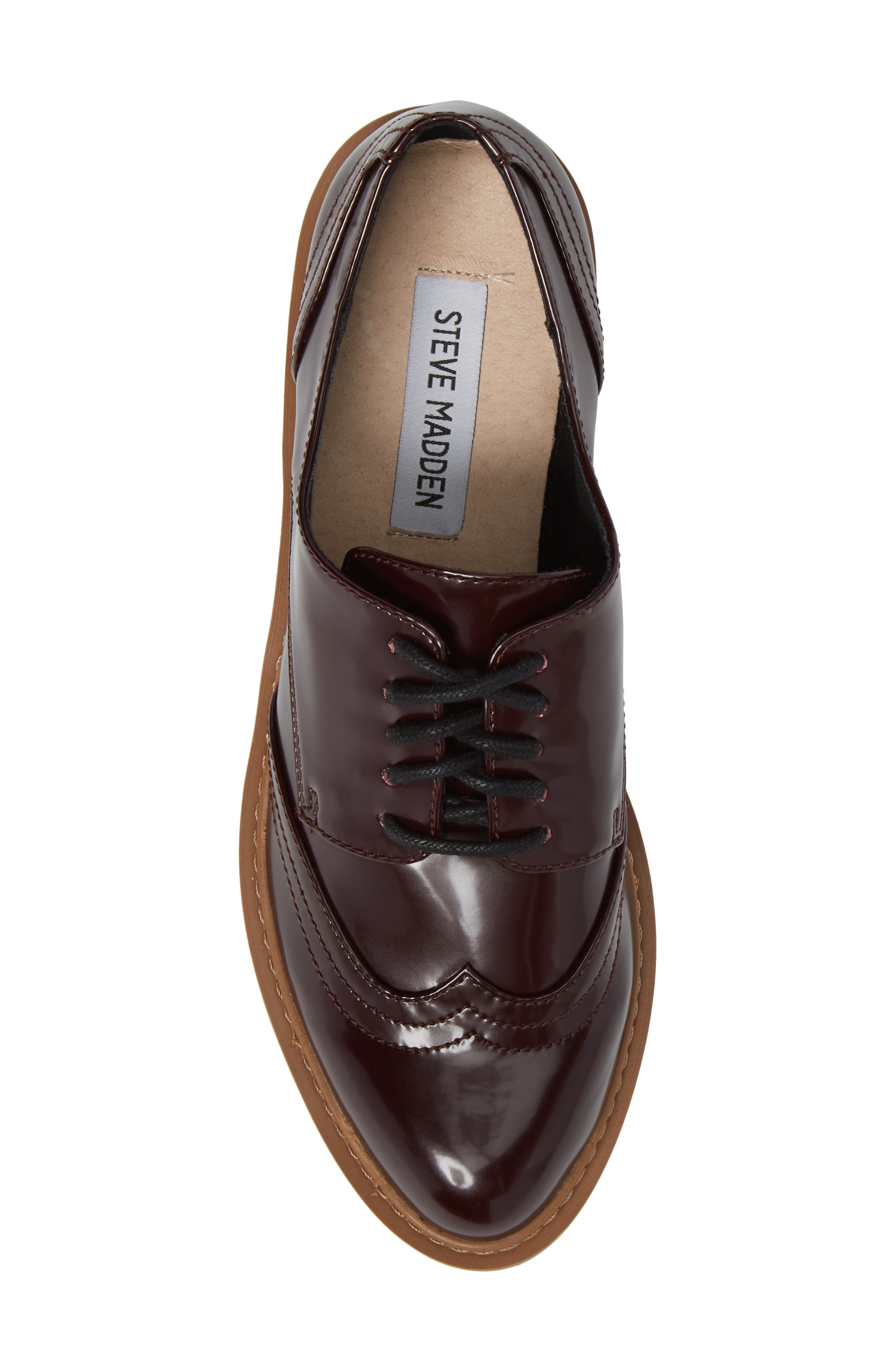 Lydia Oxford,                             Alternate thumbnail 5, color,                             Burgundy Patent