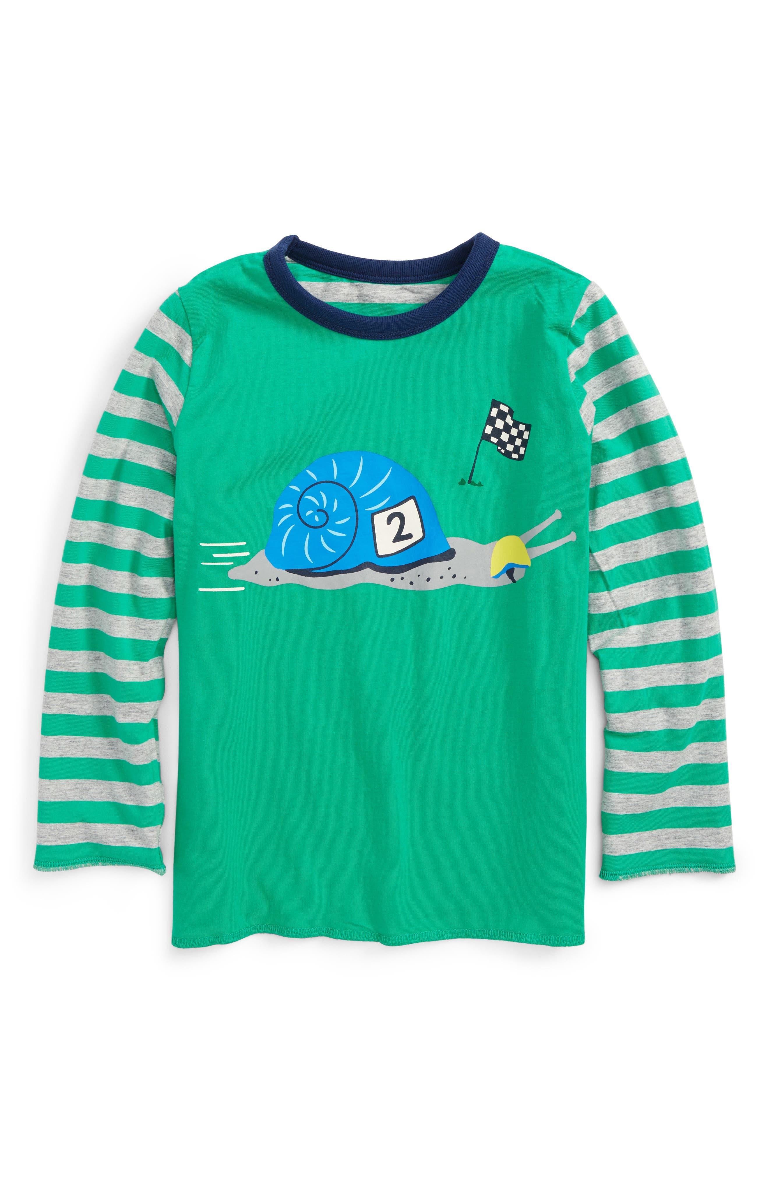 Main Image - Mini Boden Animal Reversible T-Shirt (Toddler Boys, Little Boys & Big Boys)