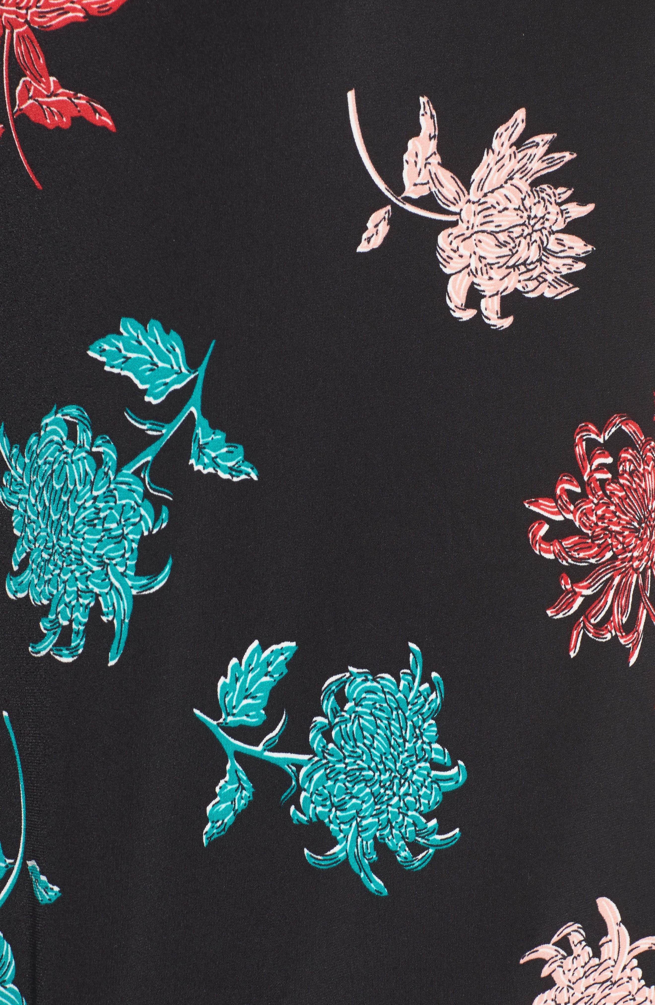 Alternate Image 5  - Chaus Bell Sleeve Imperial Bloom Top