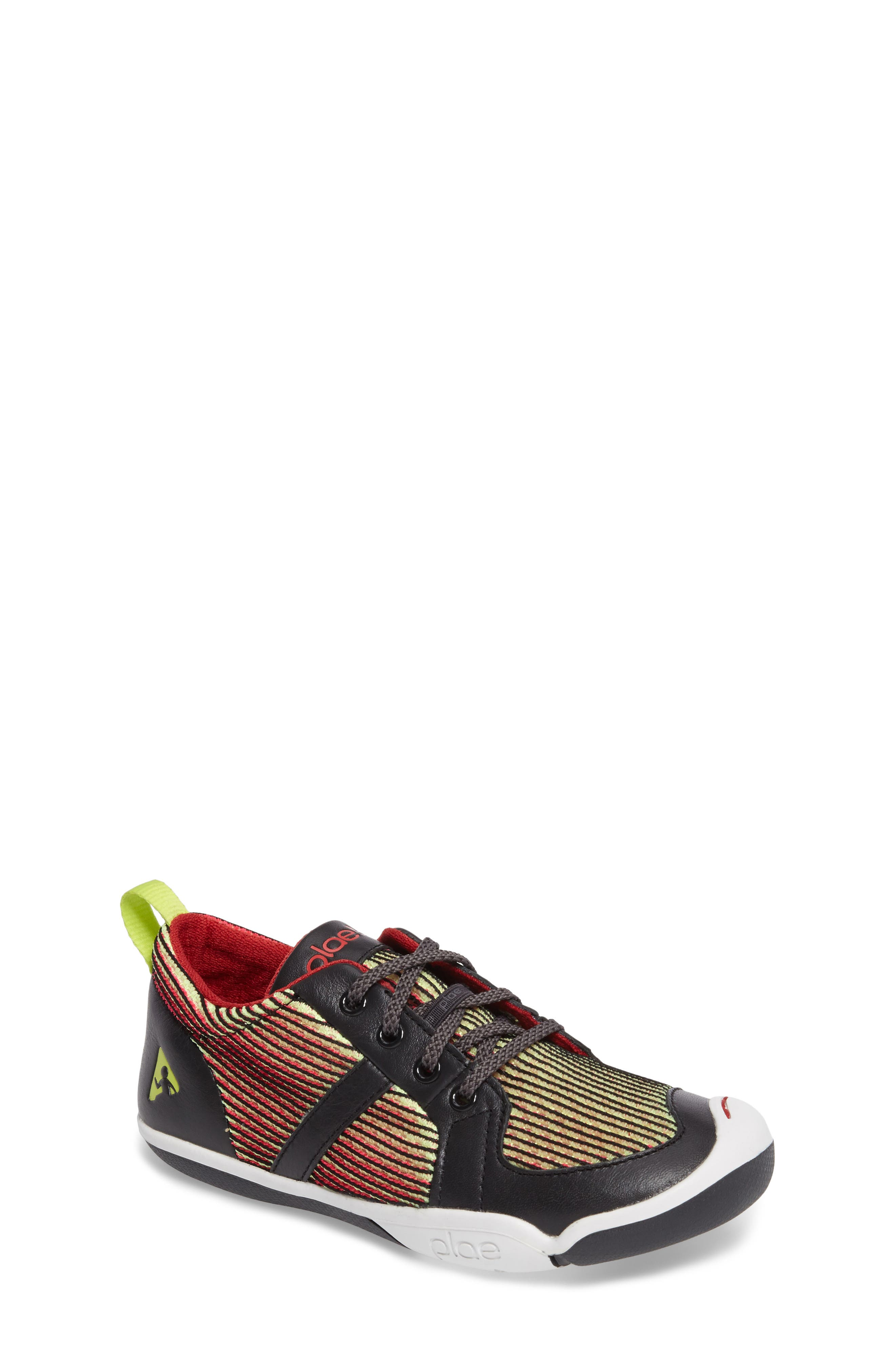 Miles Performance Mesh Sneaker,                         Main,                         color, Electric Lime