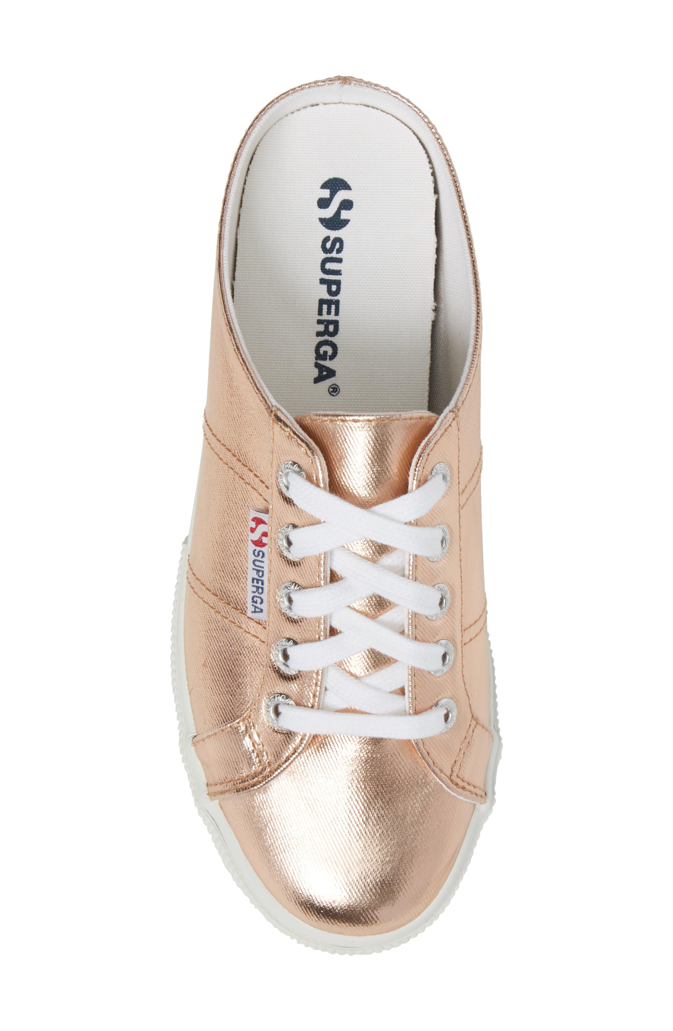 2288 Sneaker Mule,                             Alternate thumbnail 5, color,                             Rose Gold