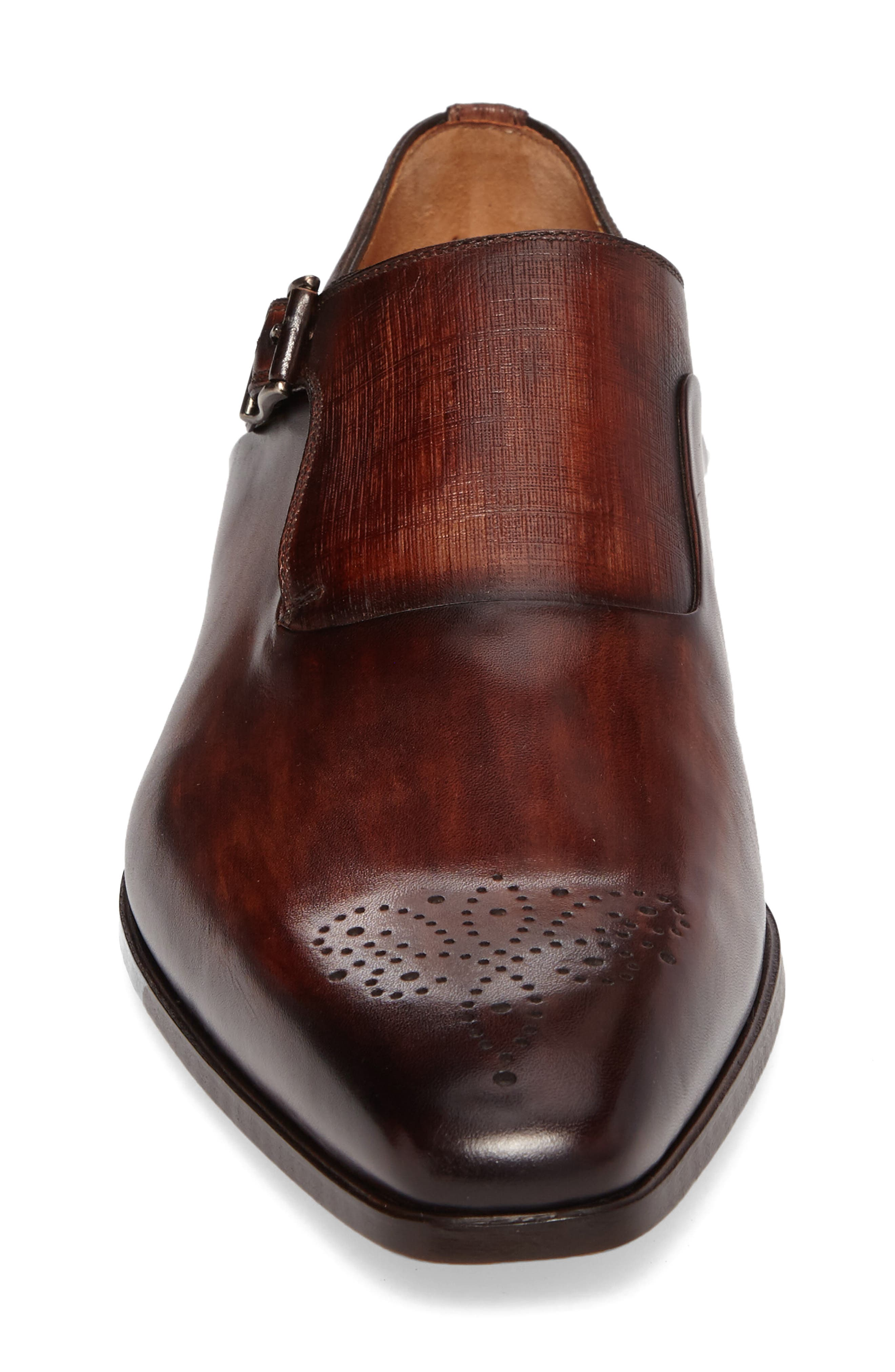 Alternate Image 4  - Magnanni Saburo Monk Strap Shoe (Men)