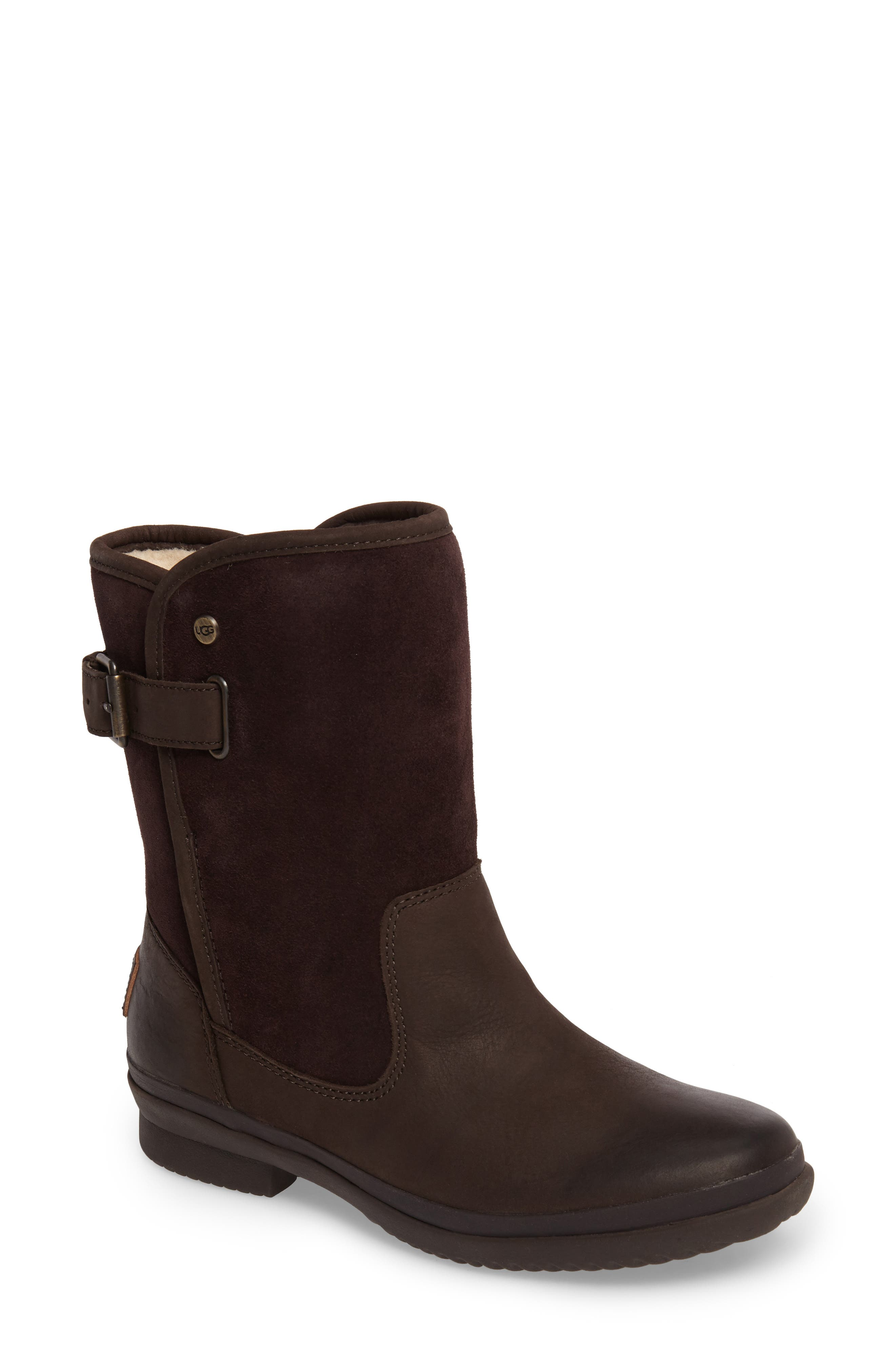 Oren Waterproof Boot,                         Main,                         color, Stout Leather