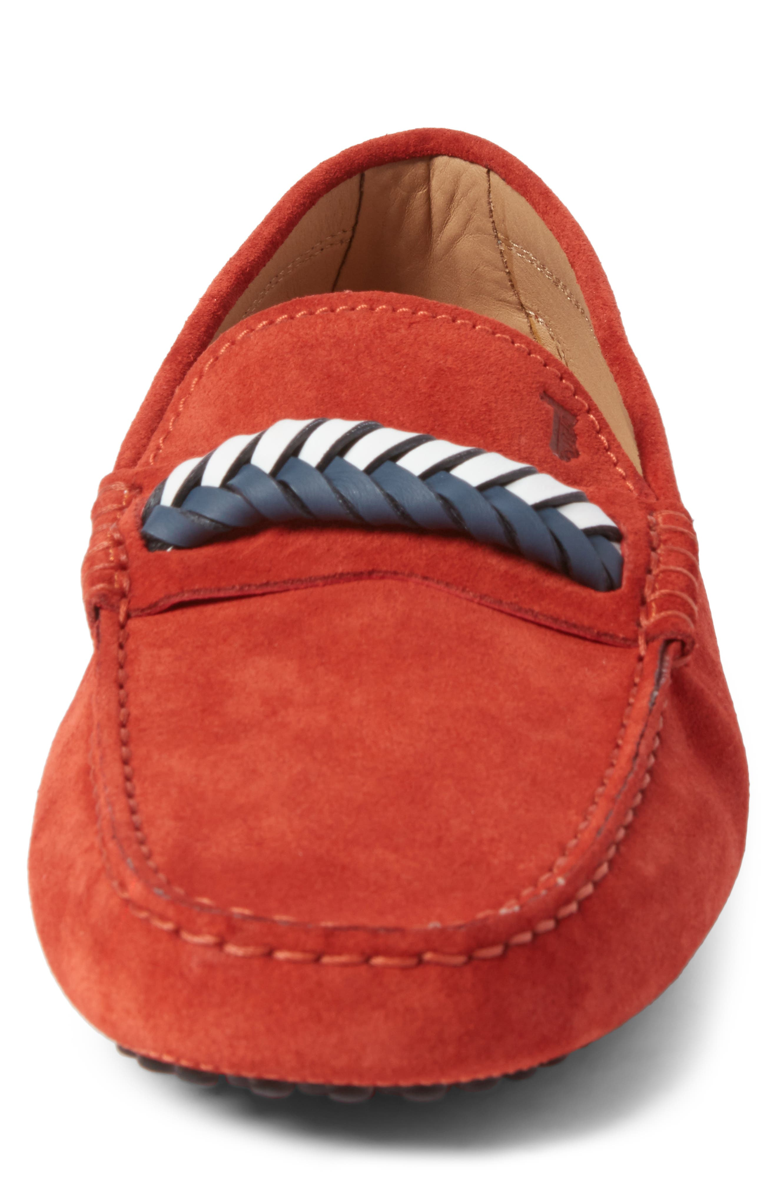 Alternate Image 4  - Tod's Gommini Driving Shoe (Men)