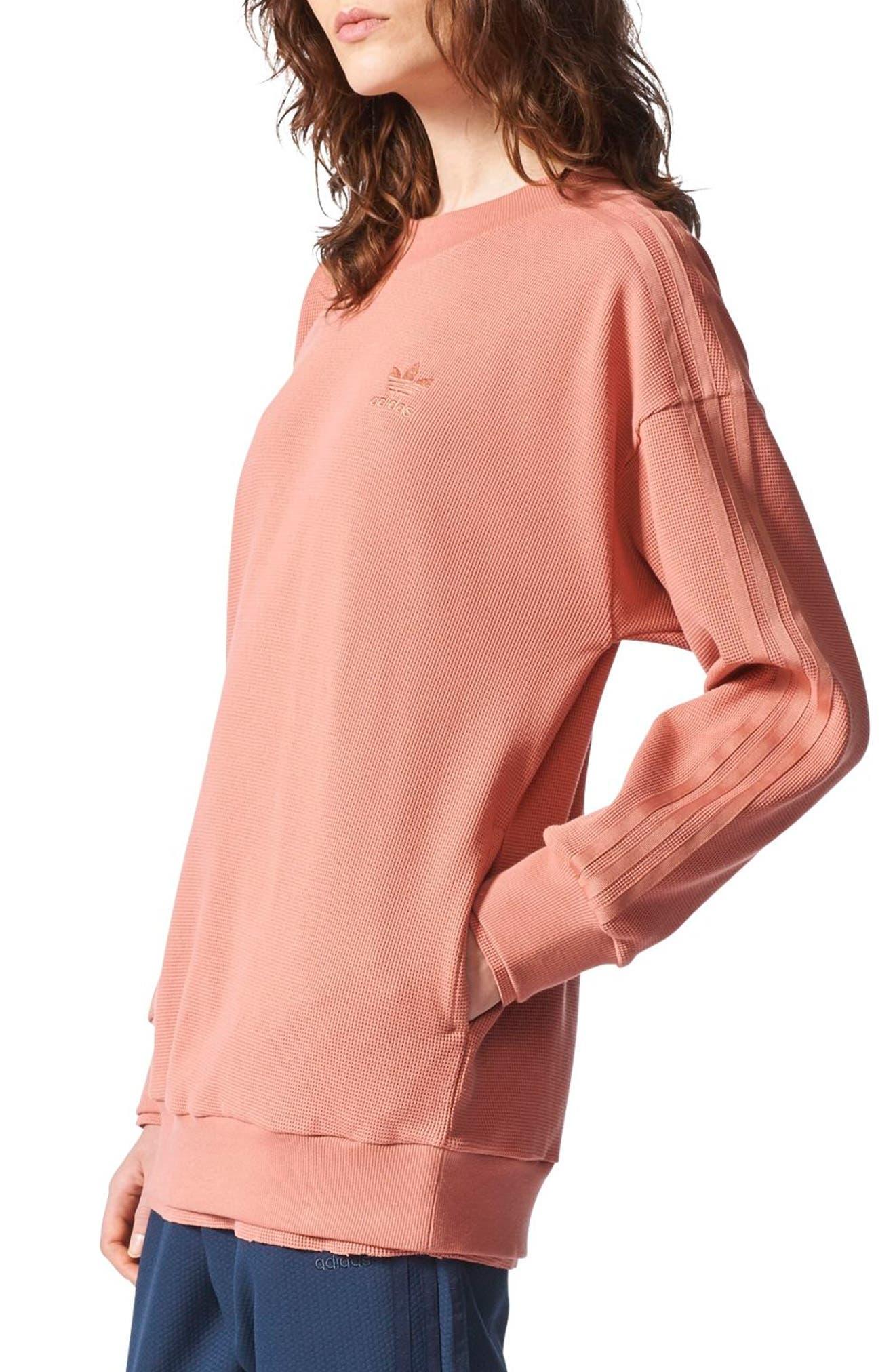 Originals Thermal Sweatshirt,                             Alternate thumbnail 3, color,                             Raw Pink