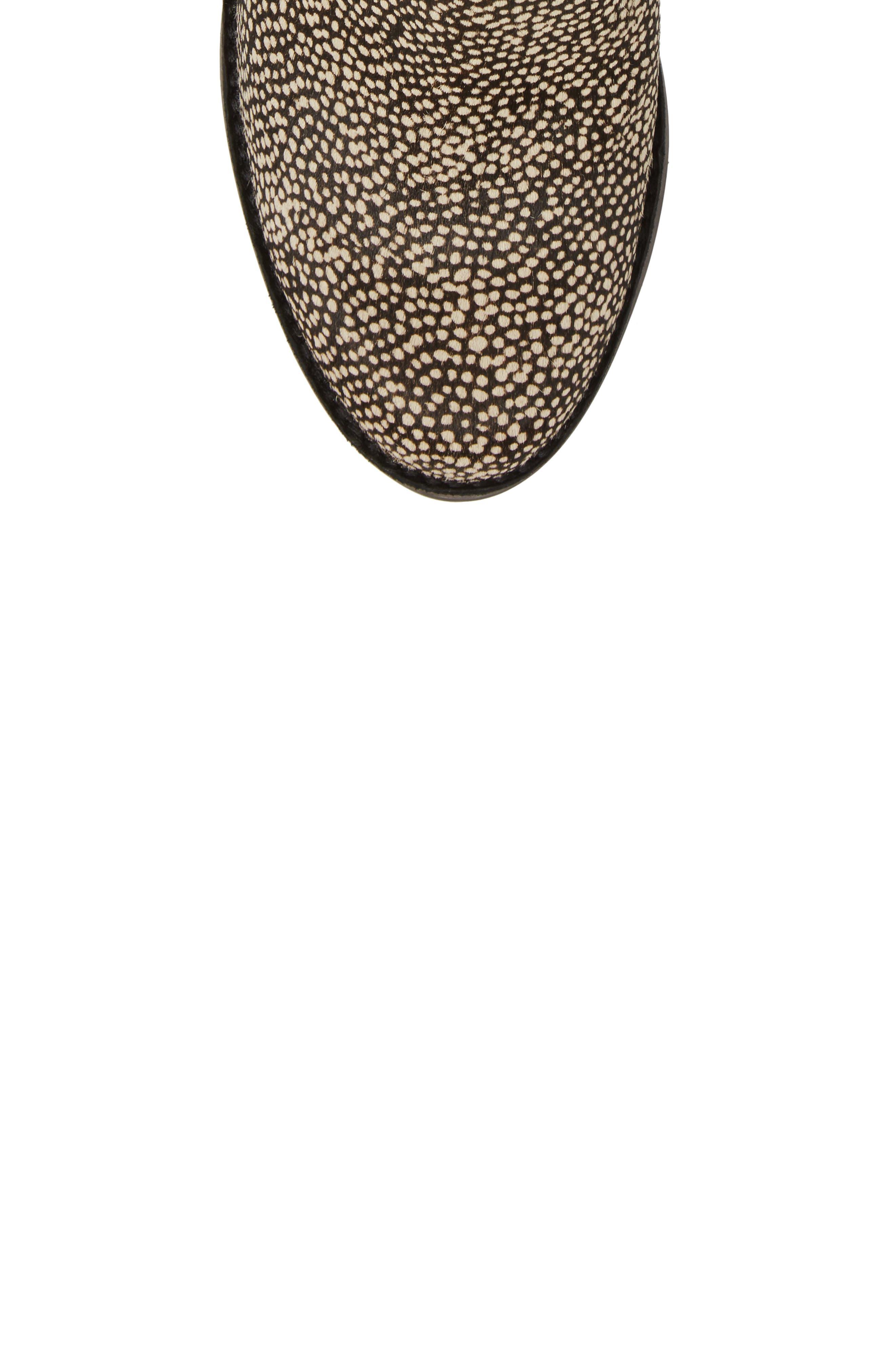 Alternate Image 5  - UGG® Camden Genuine Calf Hair Chelsea Boot (Women)
