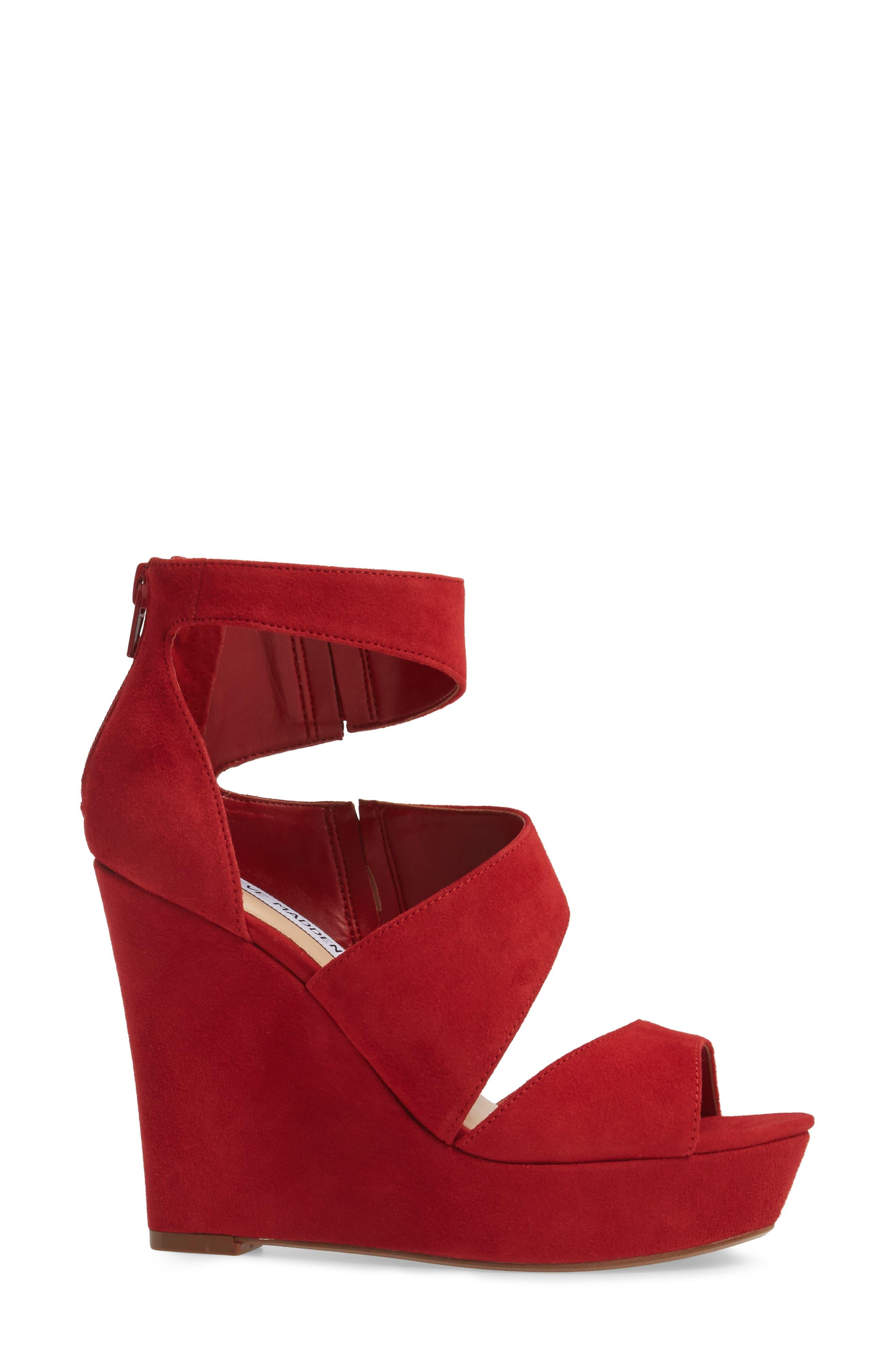 Alternate Image 3  - Steve Madden Essey Asymmetrical Platform Wedge Sandal (Women)