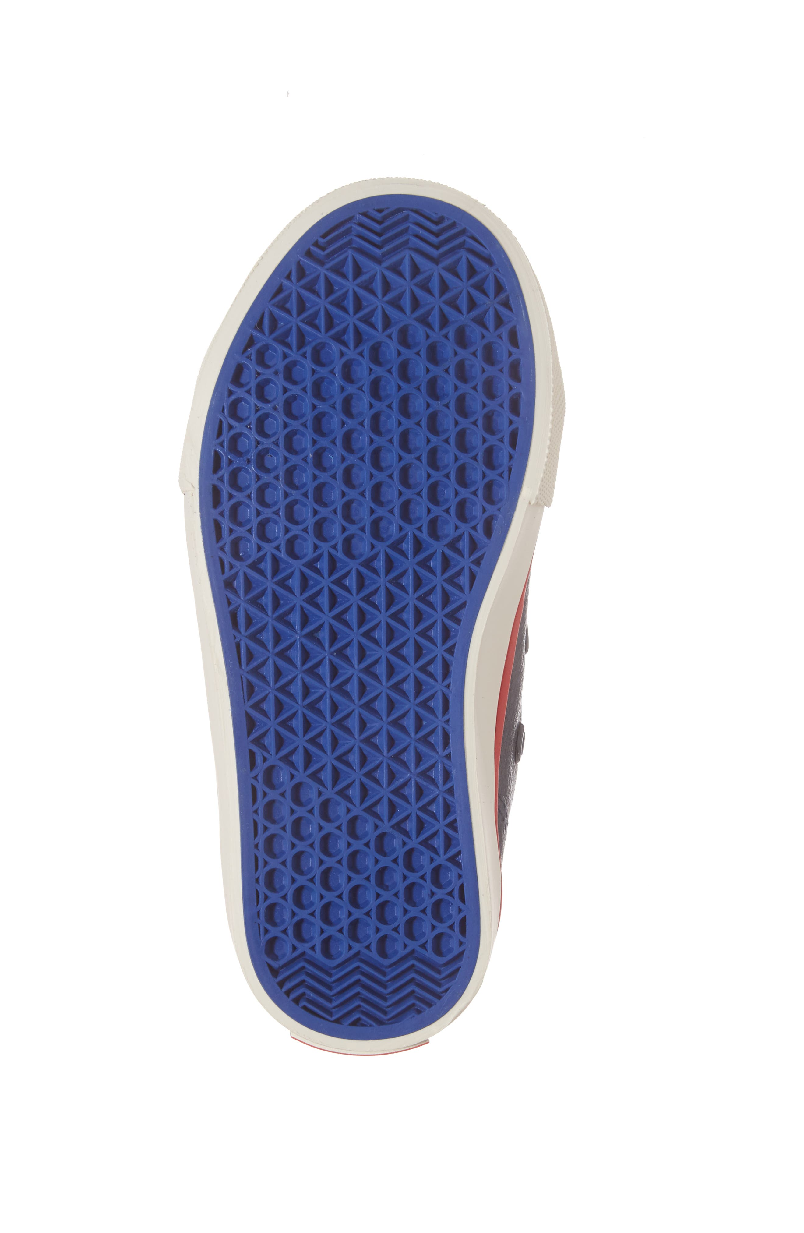 High Top Sneaker,                             Alternate thumbnail 6, color,                             Navy