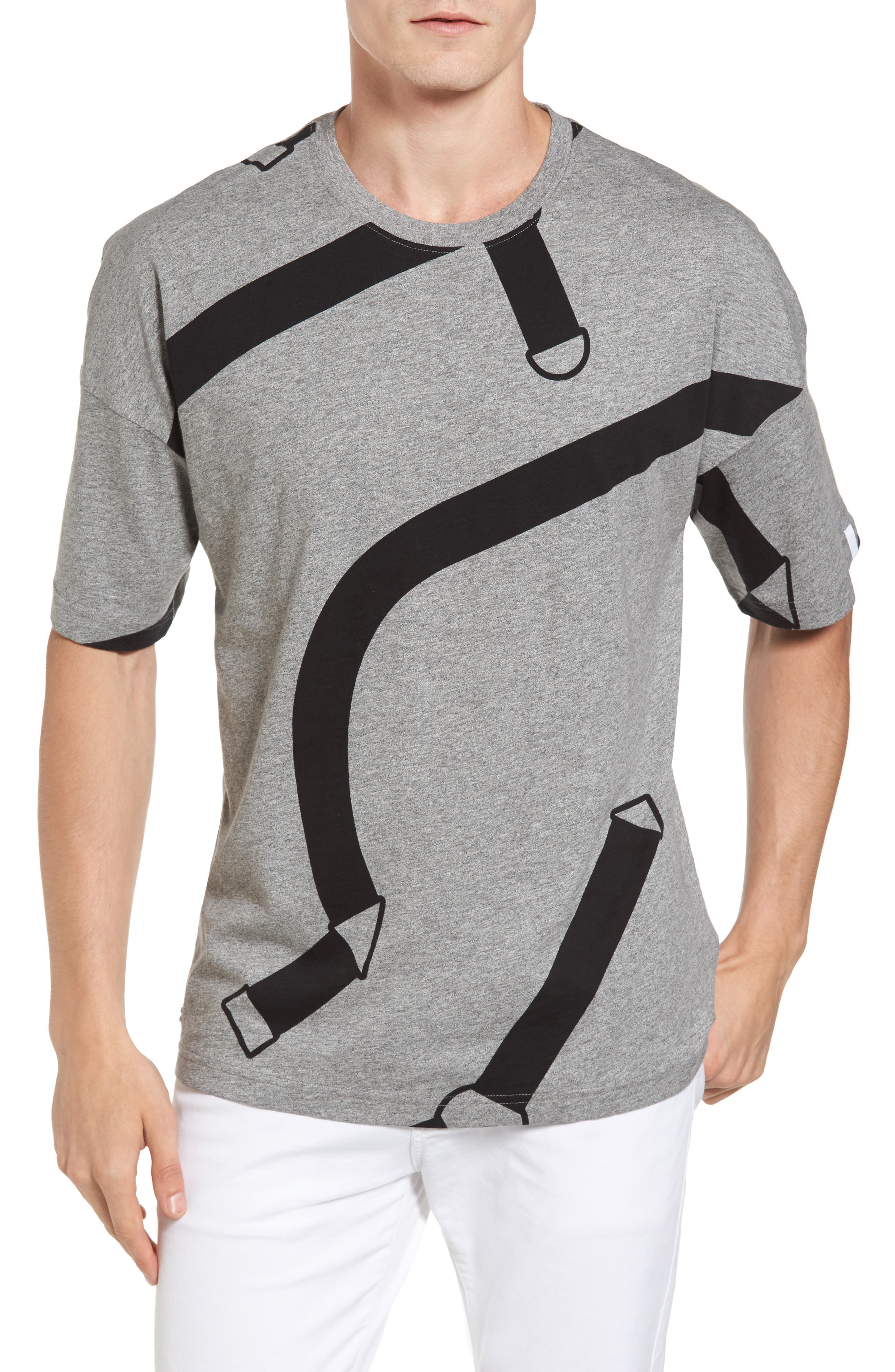 Lacoste L!VE Harness Print T-Shirt
