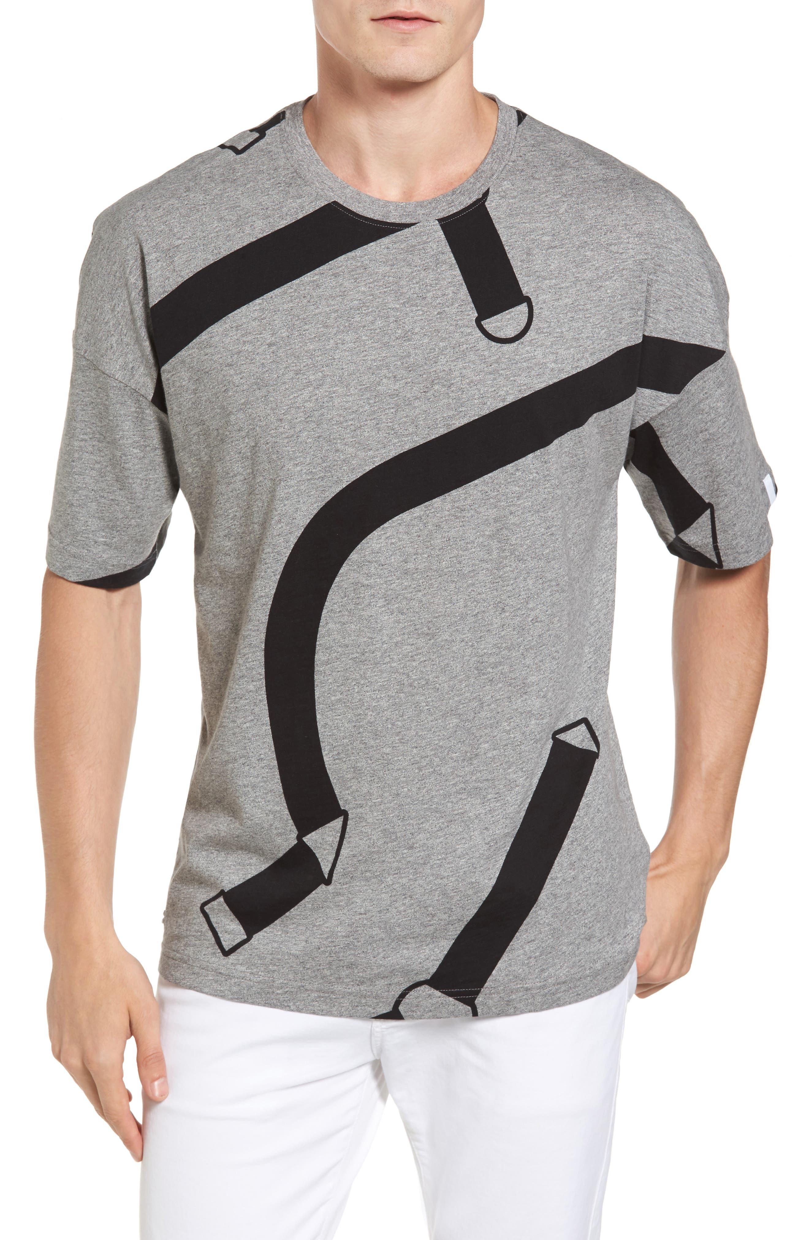 Lacoste L!VE Harness Print T-Shirt