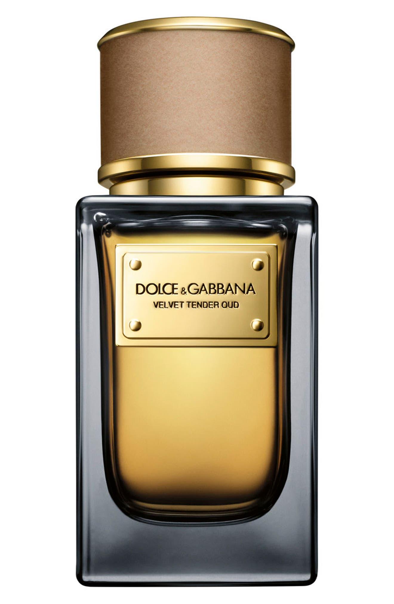 Dolce&GabbanaBeauty 'Velvet Tender Oud' Eau de Parfum,                         Main,                         color, No Color