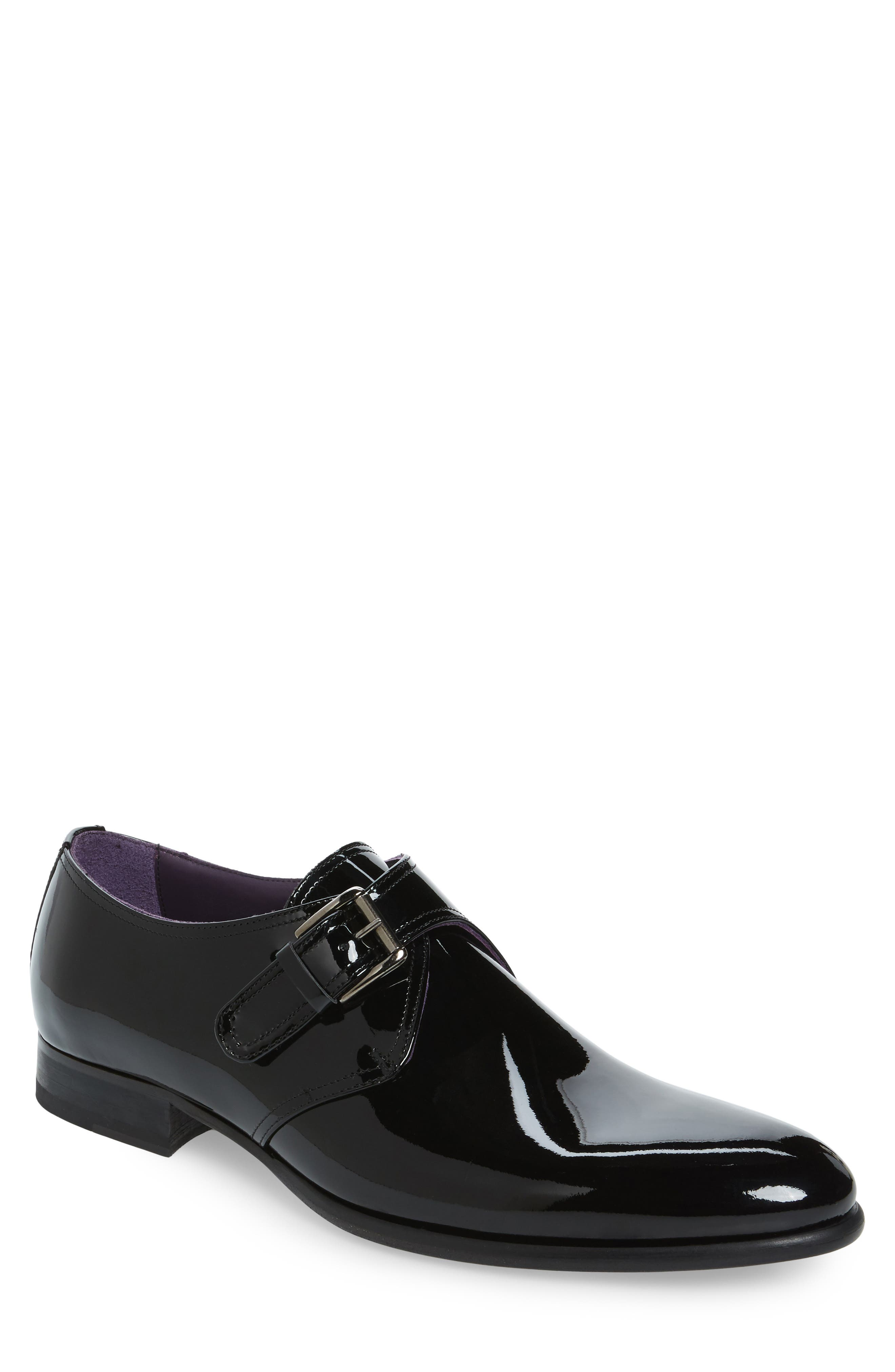 TO BOOT NEW YORK Emmett Monk Strap Shoe