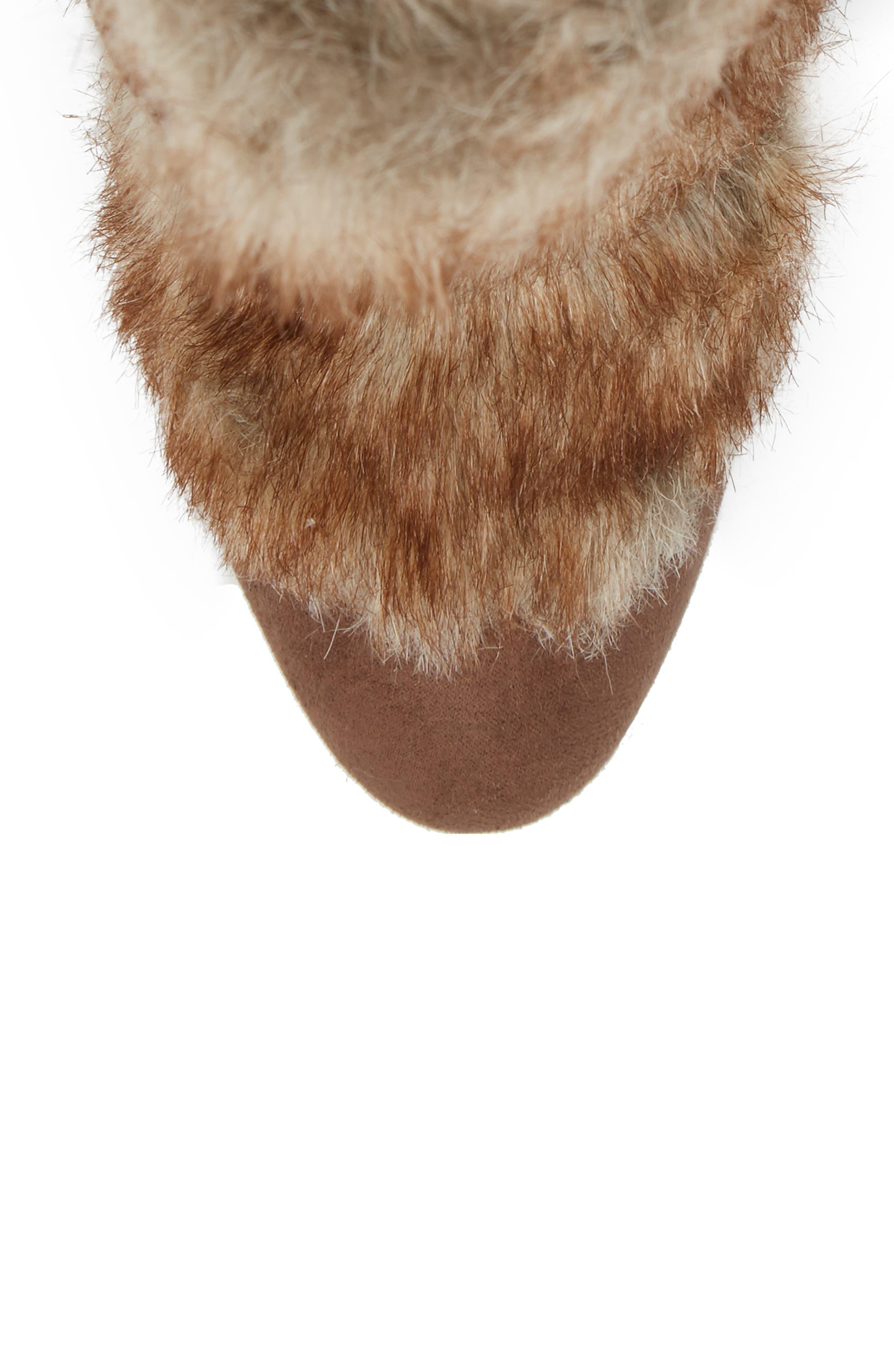 Alternate Image 5  - Charles by Charles David Alberta Faux Fur Boot (Women)