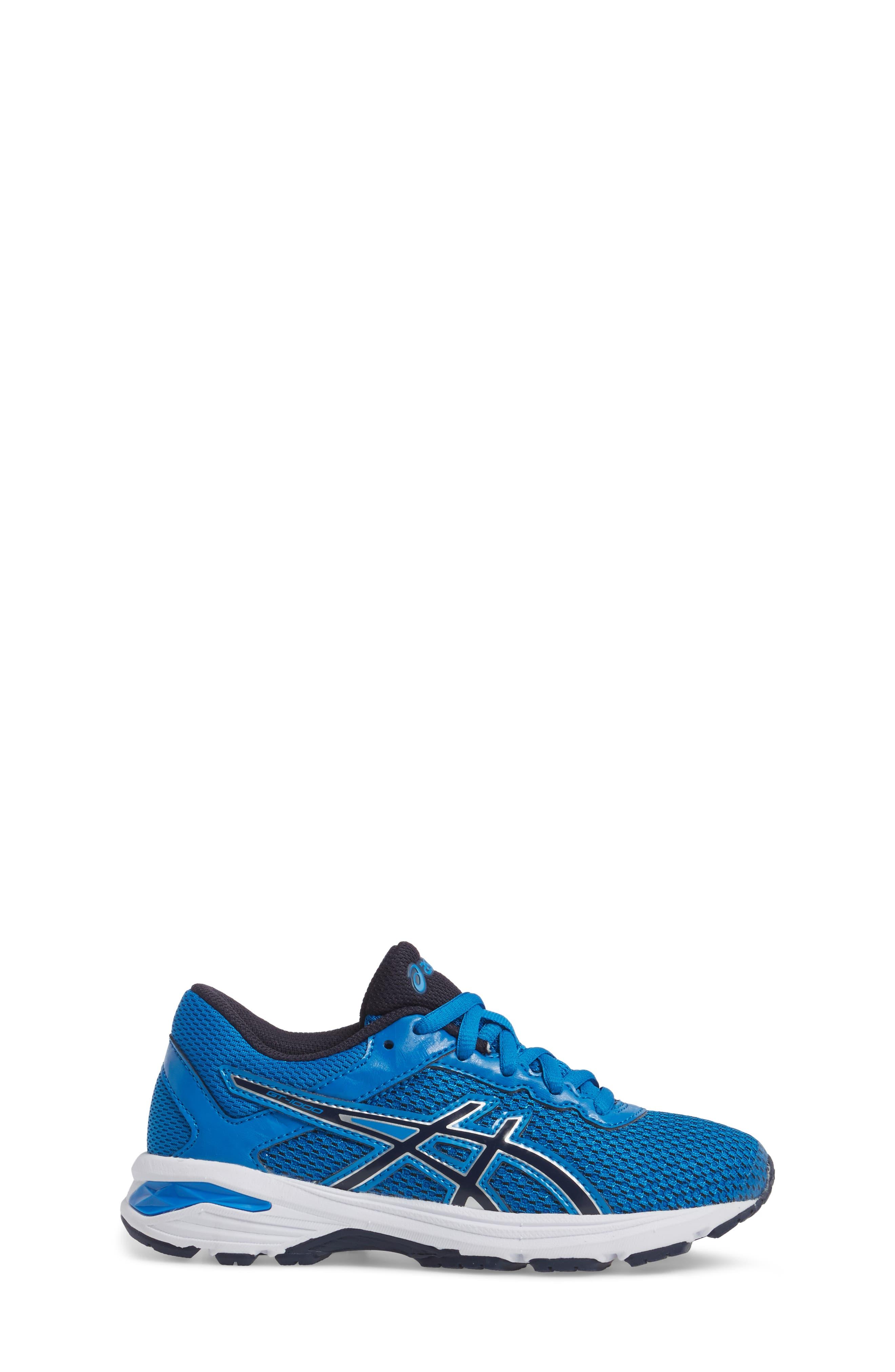 Asics GT-1000<sup>™</sup> 6 GS Sneaker,                             Alternate thumbnail 3, color,                             Blue/ Peacock