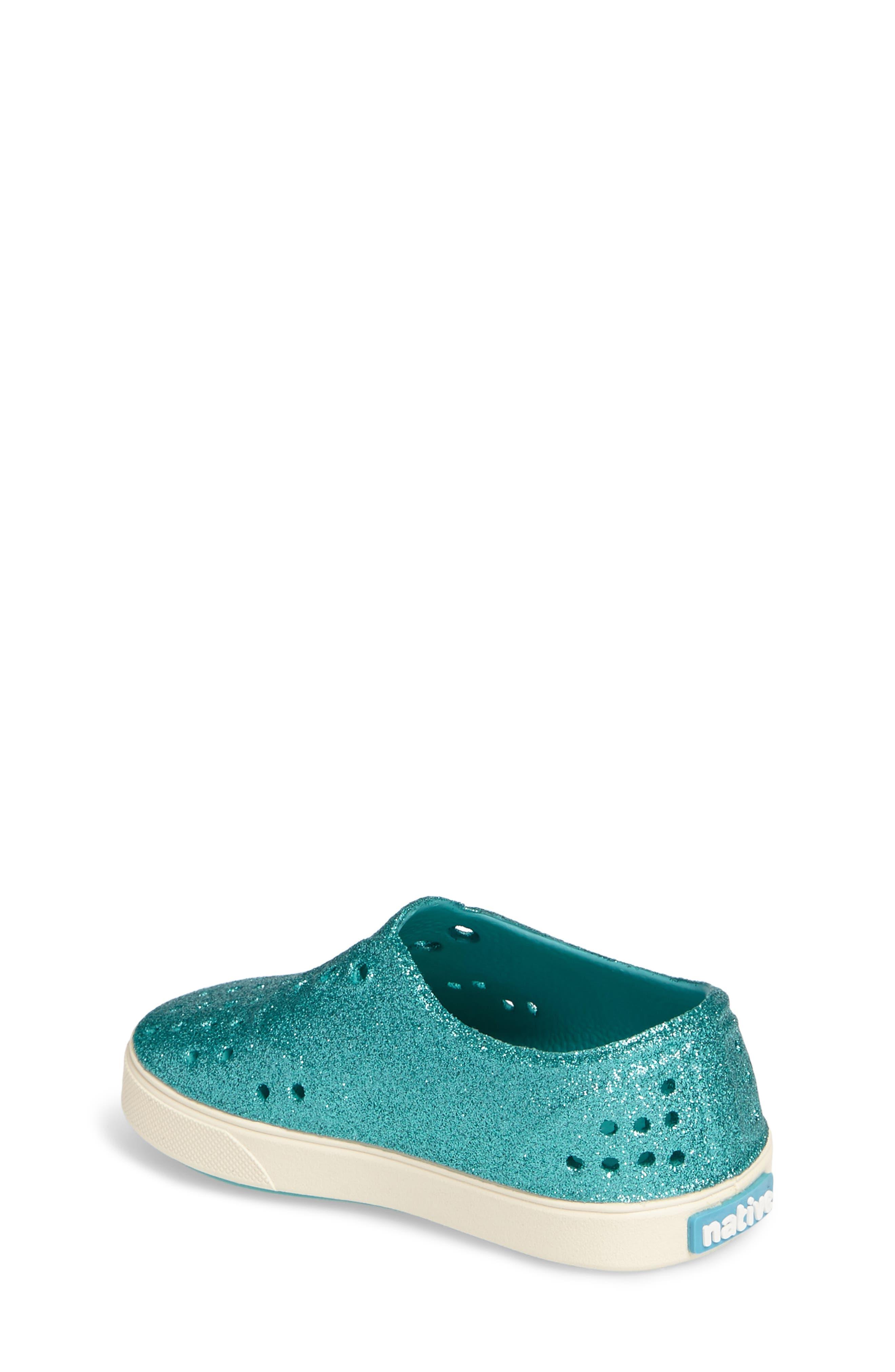 Alternate Image 2  - Native Shoes Miller Sparkly Perforated Slip-On (Walker, Toddler & Little Kid)