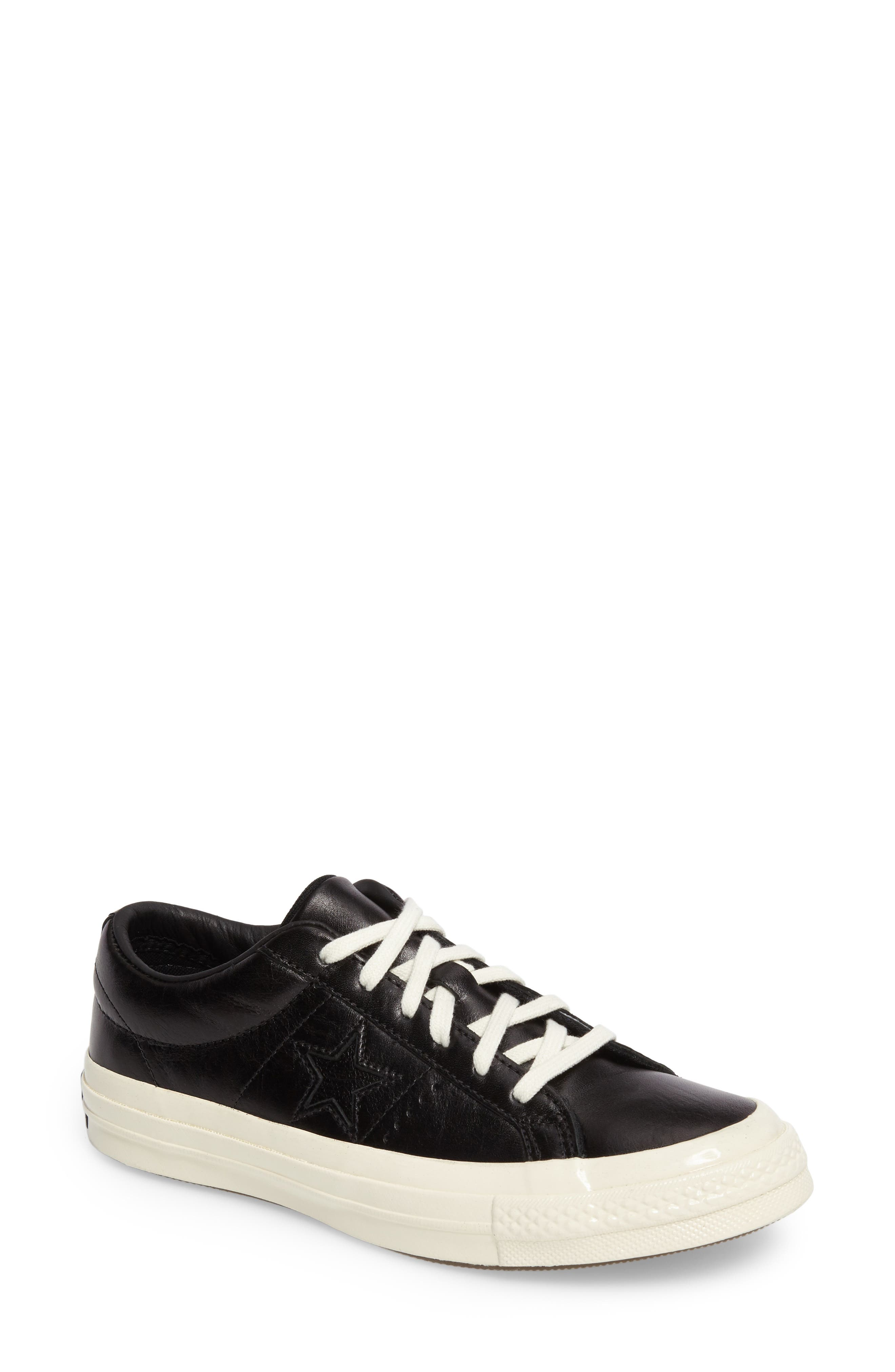 Main Image - Converse Chuck Taylor® All Star® One Star Low-Top Sneaker (Women)