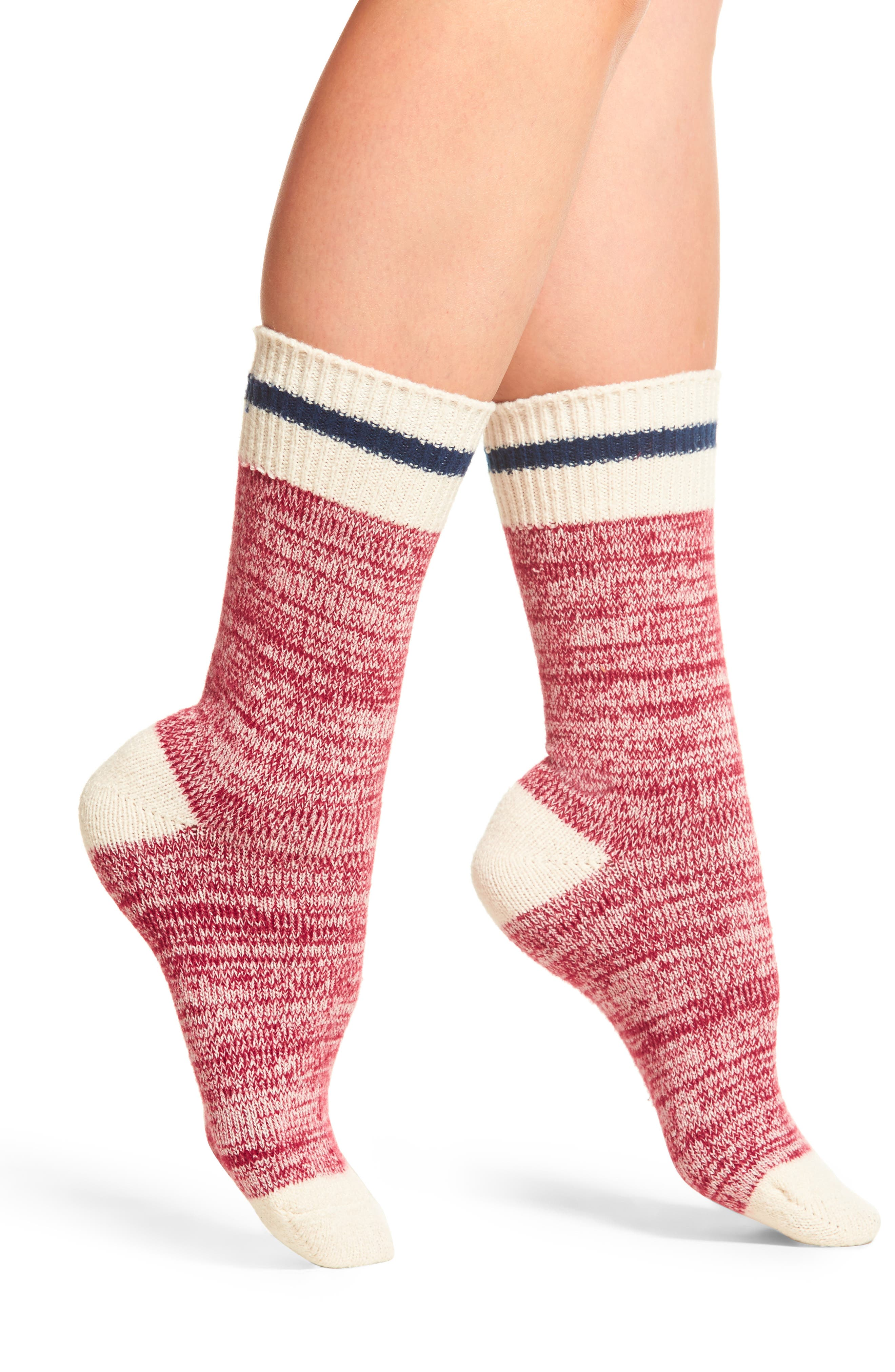 Alternate Image 1 Selected - Free People Albury Crew Socks