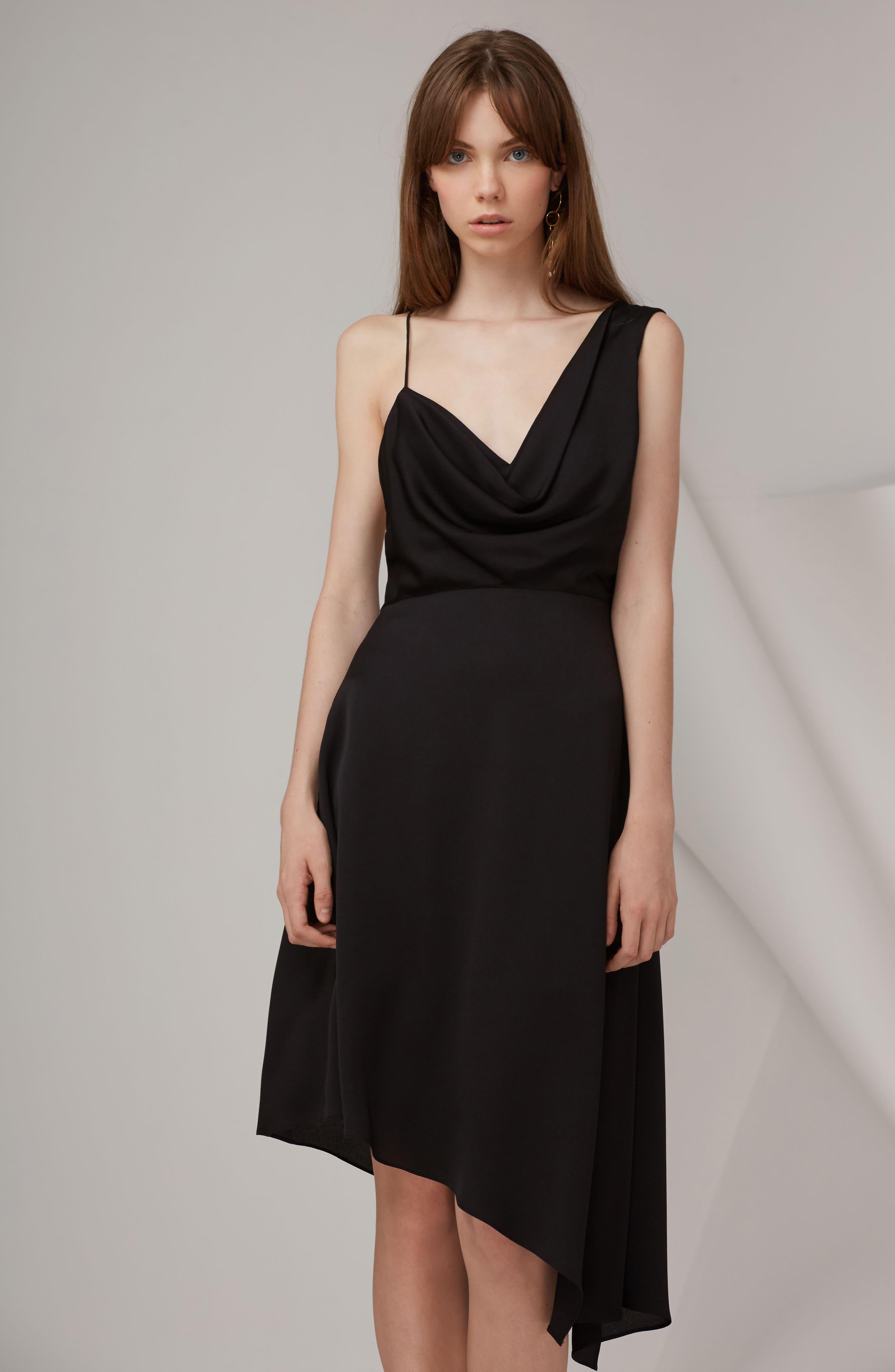 Alternate Image 2  - Keepsake the Label Sidelines Chiffon Midi Dress