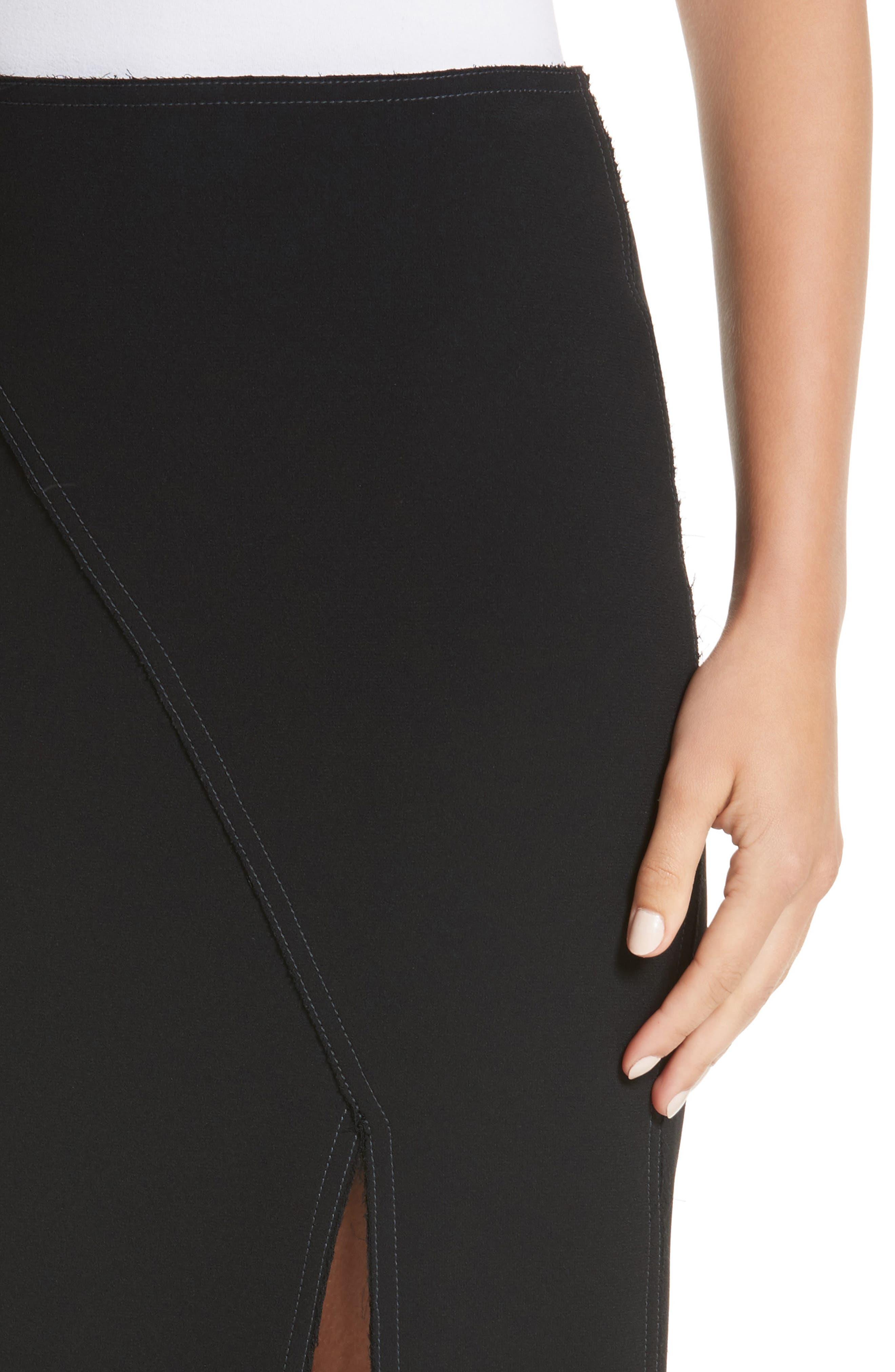 Alternate Image 4  - Jason Wu Compact Crepe Pencil Skirt