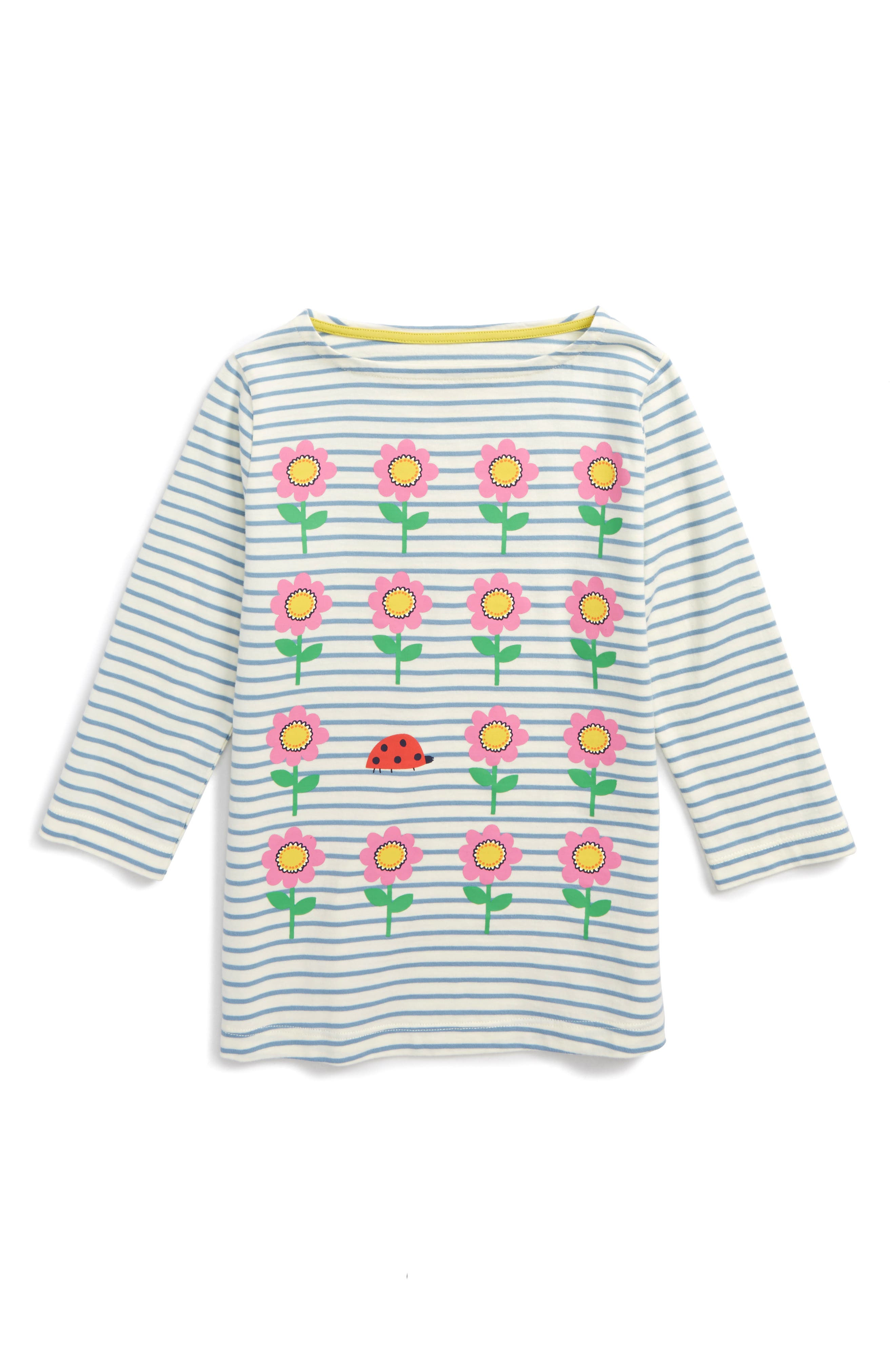 Mini Boden Odd One Out Graphic Tee (Toddler Girls, Little Girls & Big Girls)