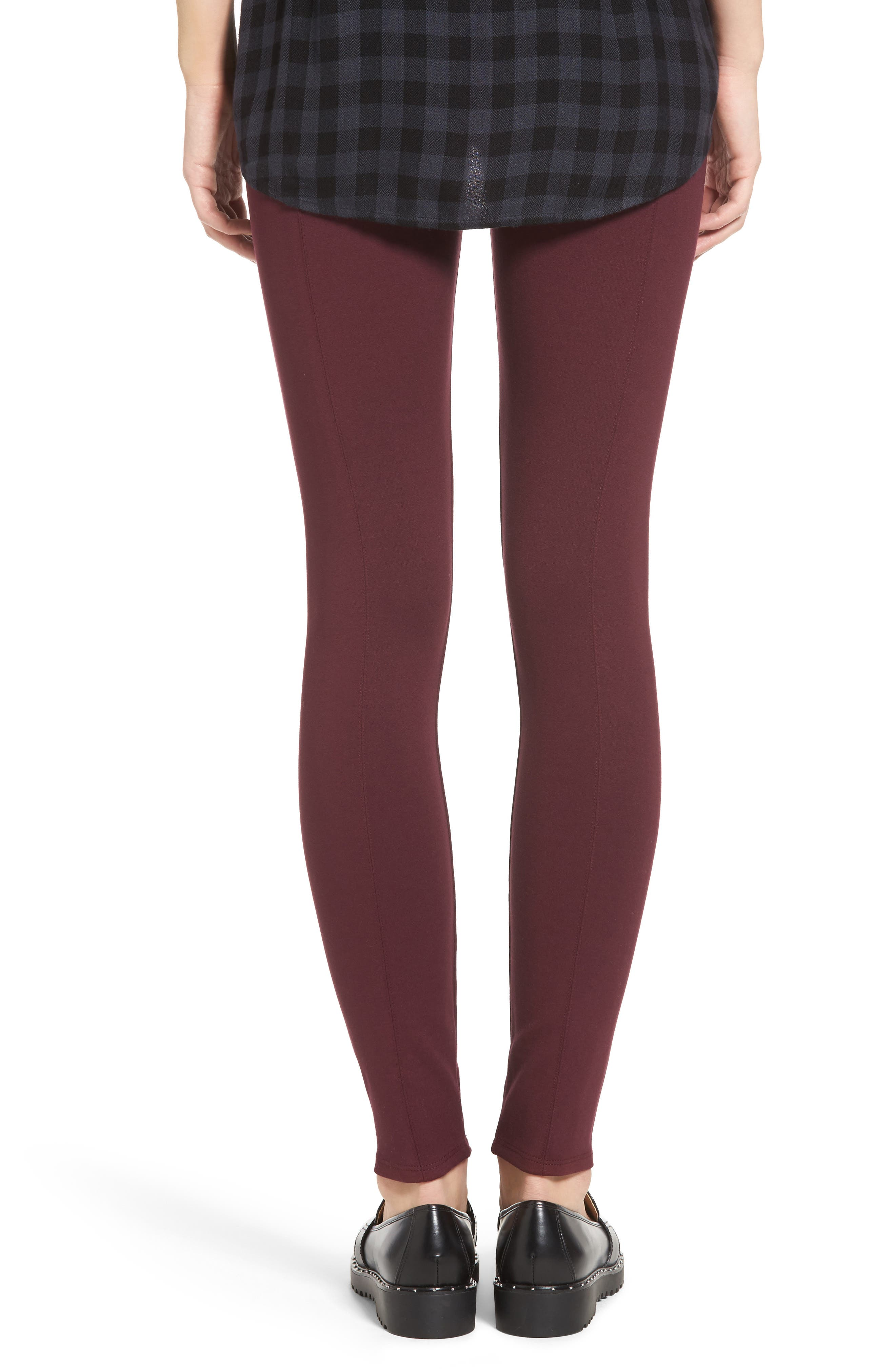 Alternate Image 2  - Lyssé High Waist Seamed Leggings